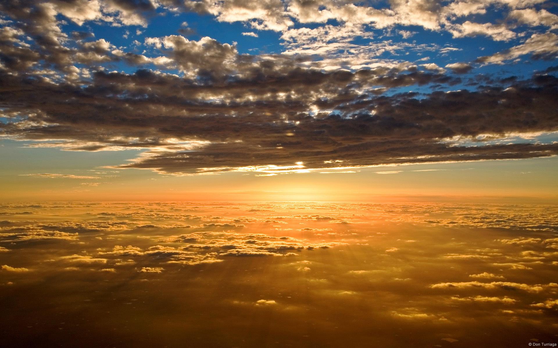 13556 скачать обои Пейзаж, Закат, Небо, Облака - заставки и картинки бесплатно