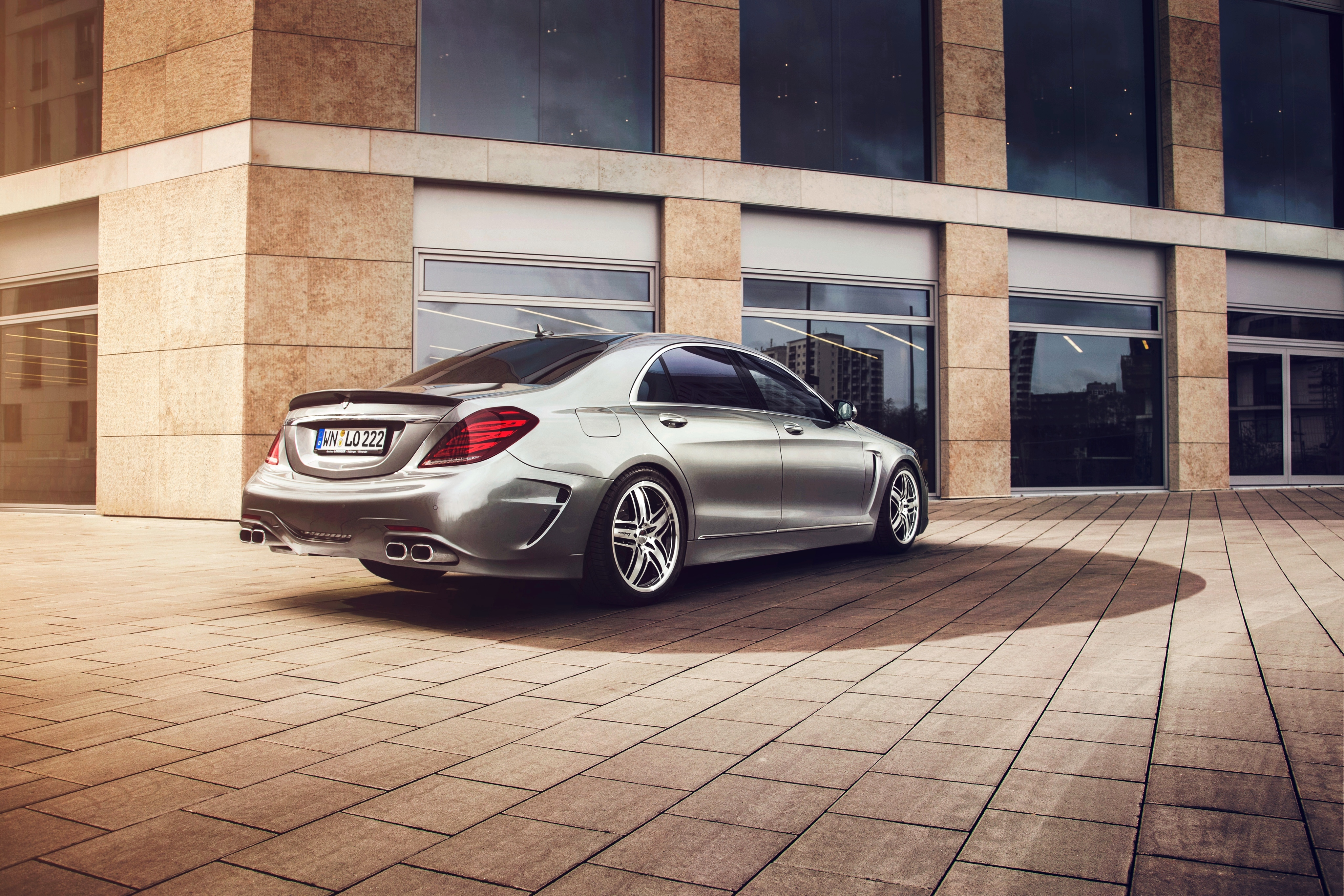 116074 download wallpaper Cars, Mercedes-Benz, W222, S-Klasse, Lorinser screensavers and pictures for free