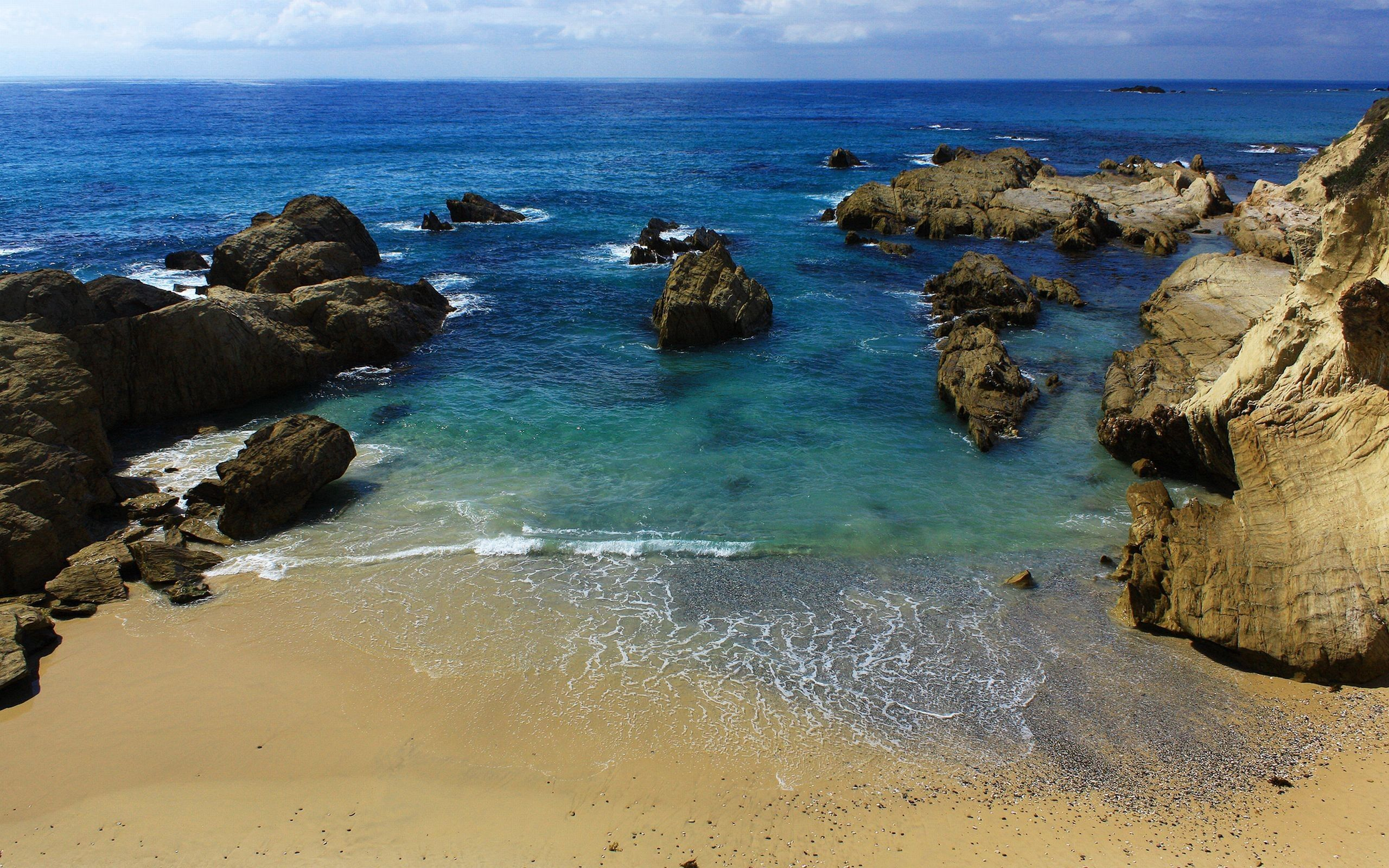 69858 download wallpaper Nature, Sea, Stones, Sand, Shore, Bank screensavers and pictures for free