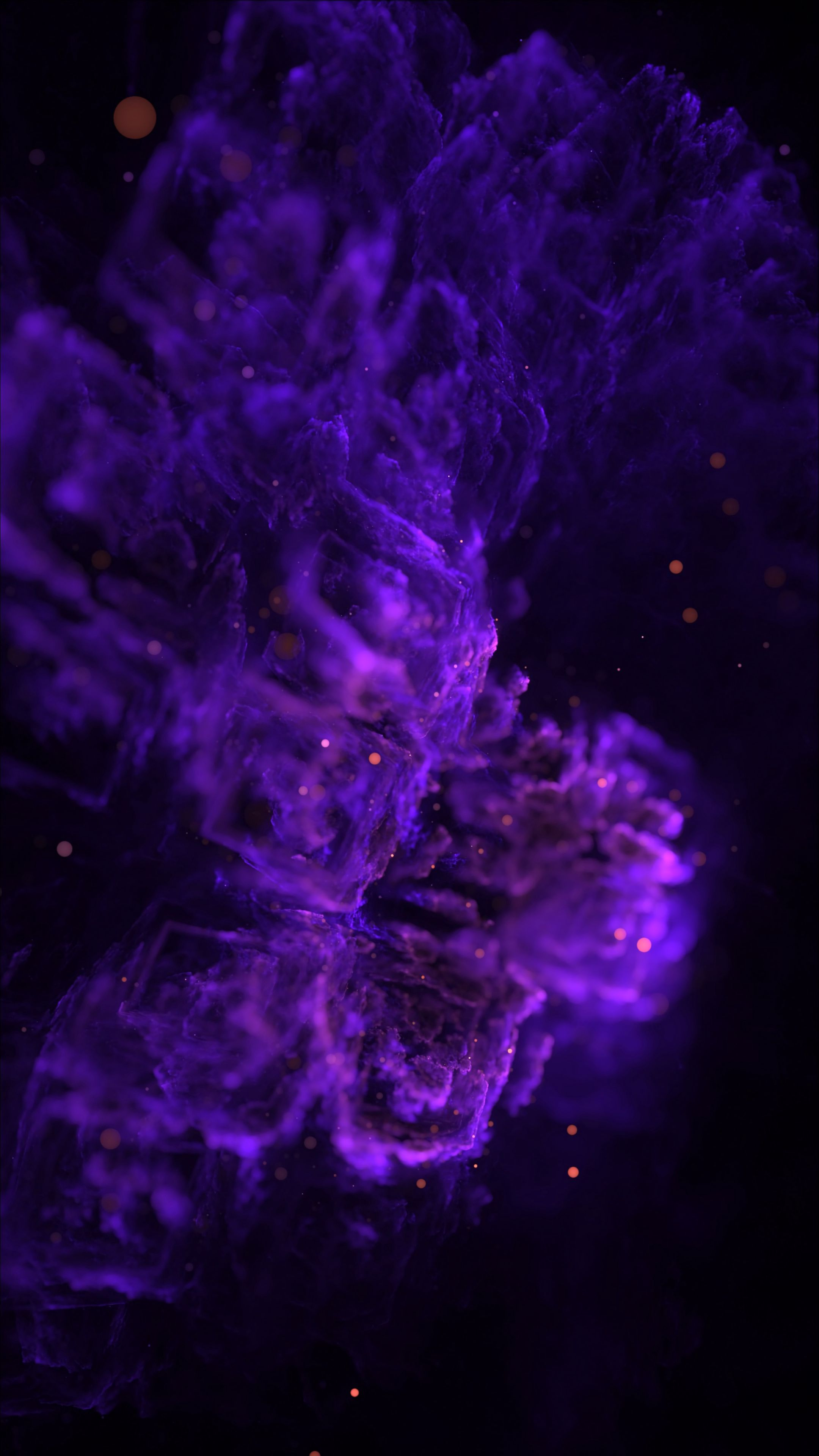 134418 download wallpaper Abstract, Clot, Fractal, Lilac, Purple, Violet screensavers and pictures for free