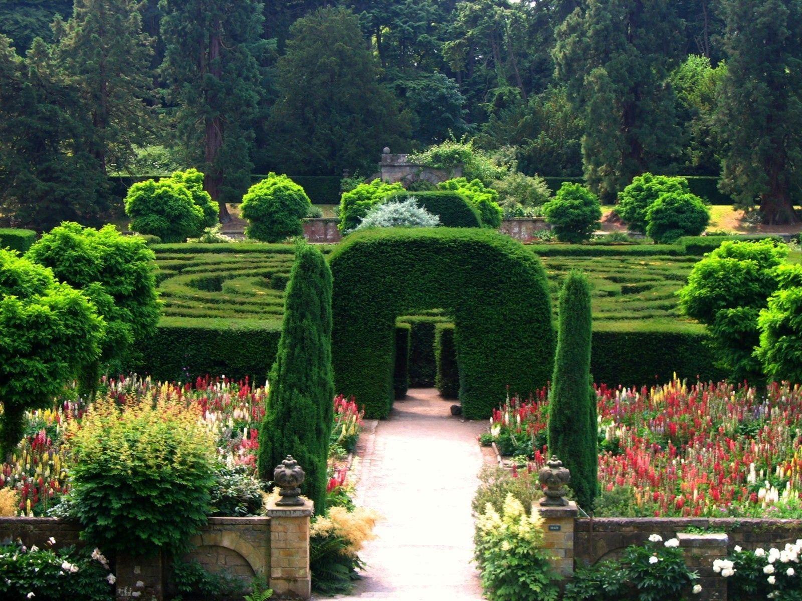 138771 descargar fondo de pantalla Naturaleza, Inglaterra, El Parque, Parque, Jardín, Arco, Laberinto: protectores de pantalla e imágenes gratis