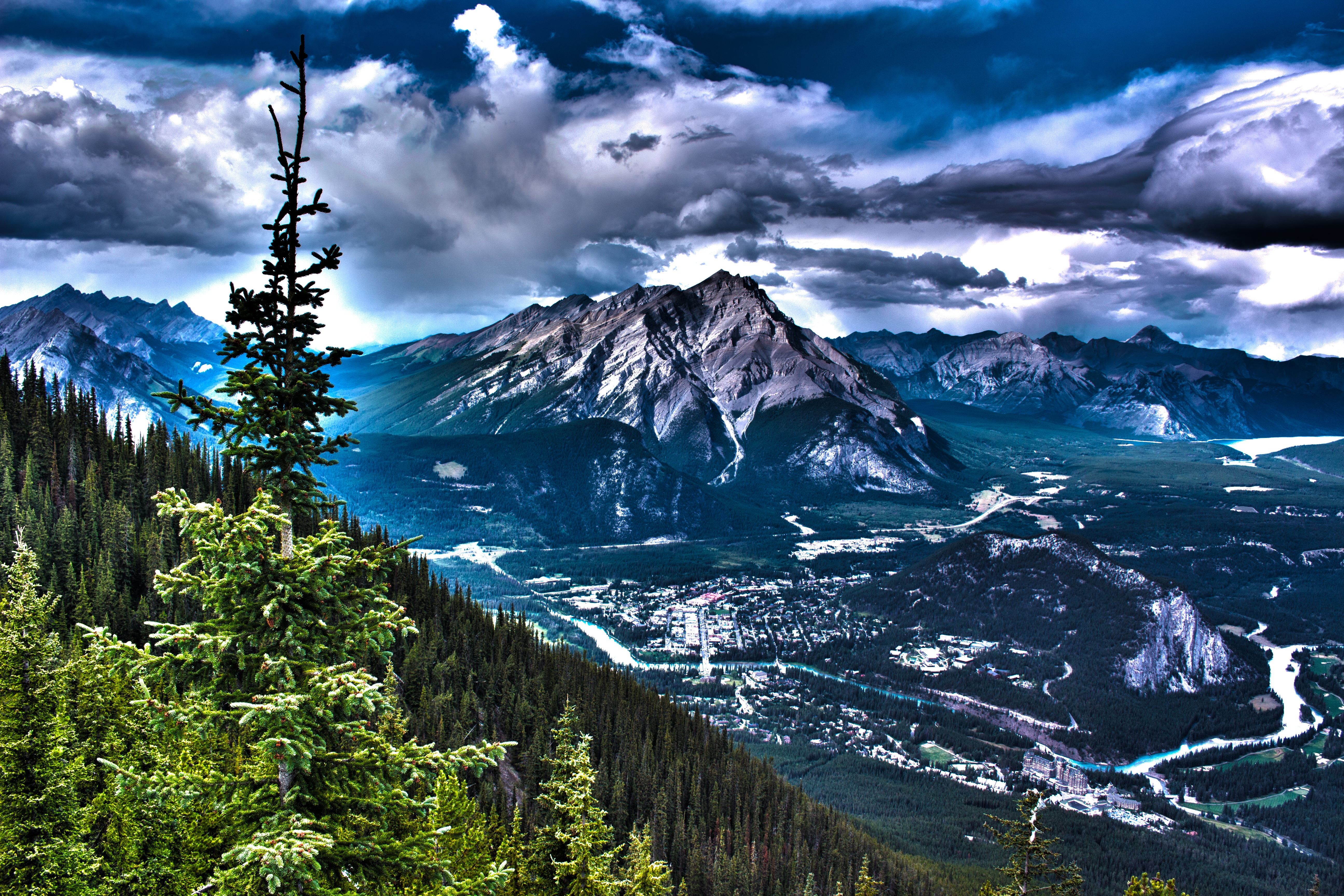 121630 Screensavers and Wallpapers Hdr for phone. Download Nature, Mountains, Rocks, Canada, Hdr pictures for free