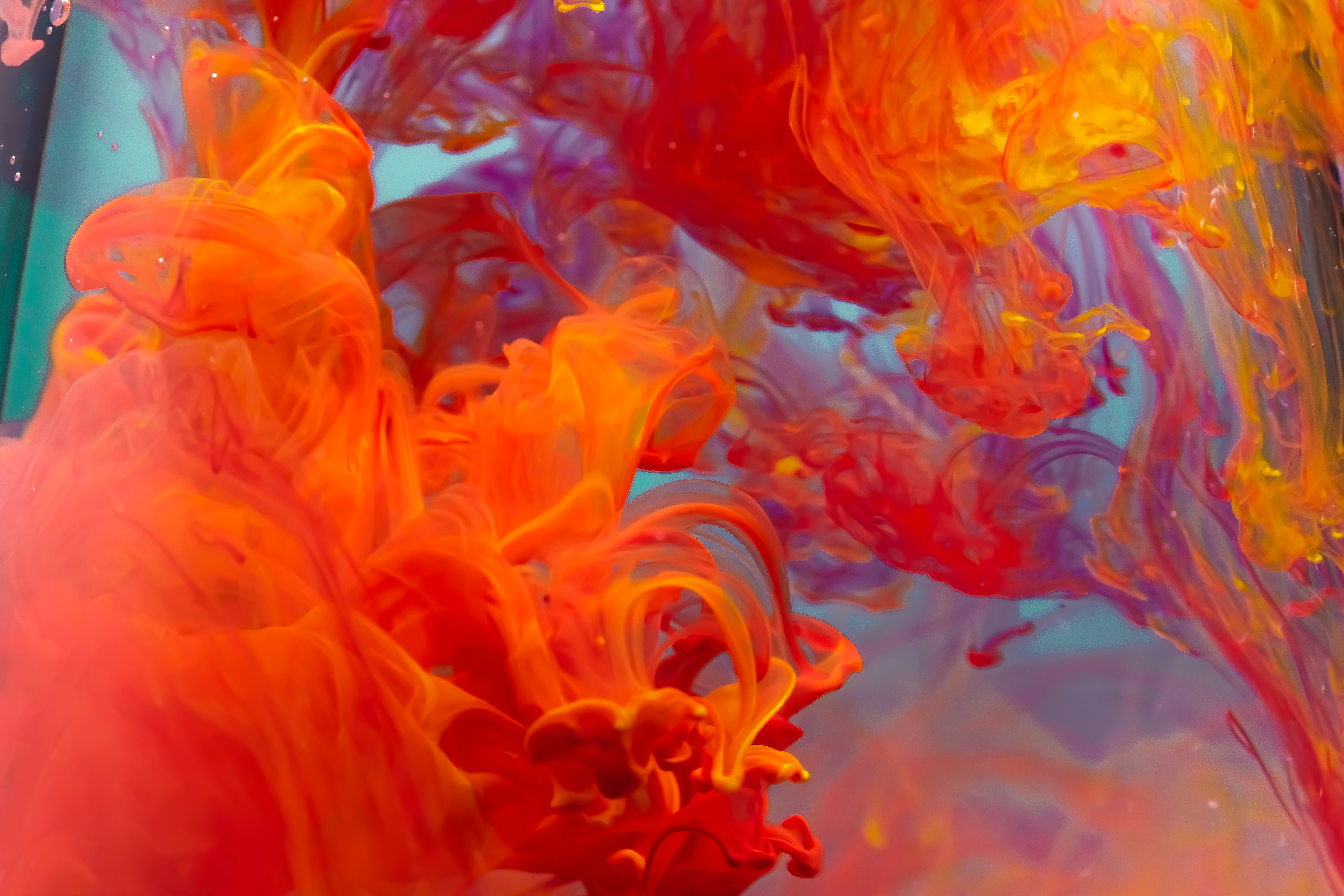 81146 download wallpaper Paint, Macro, Liquid, Clots screensavers and pictures for free