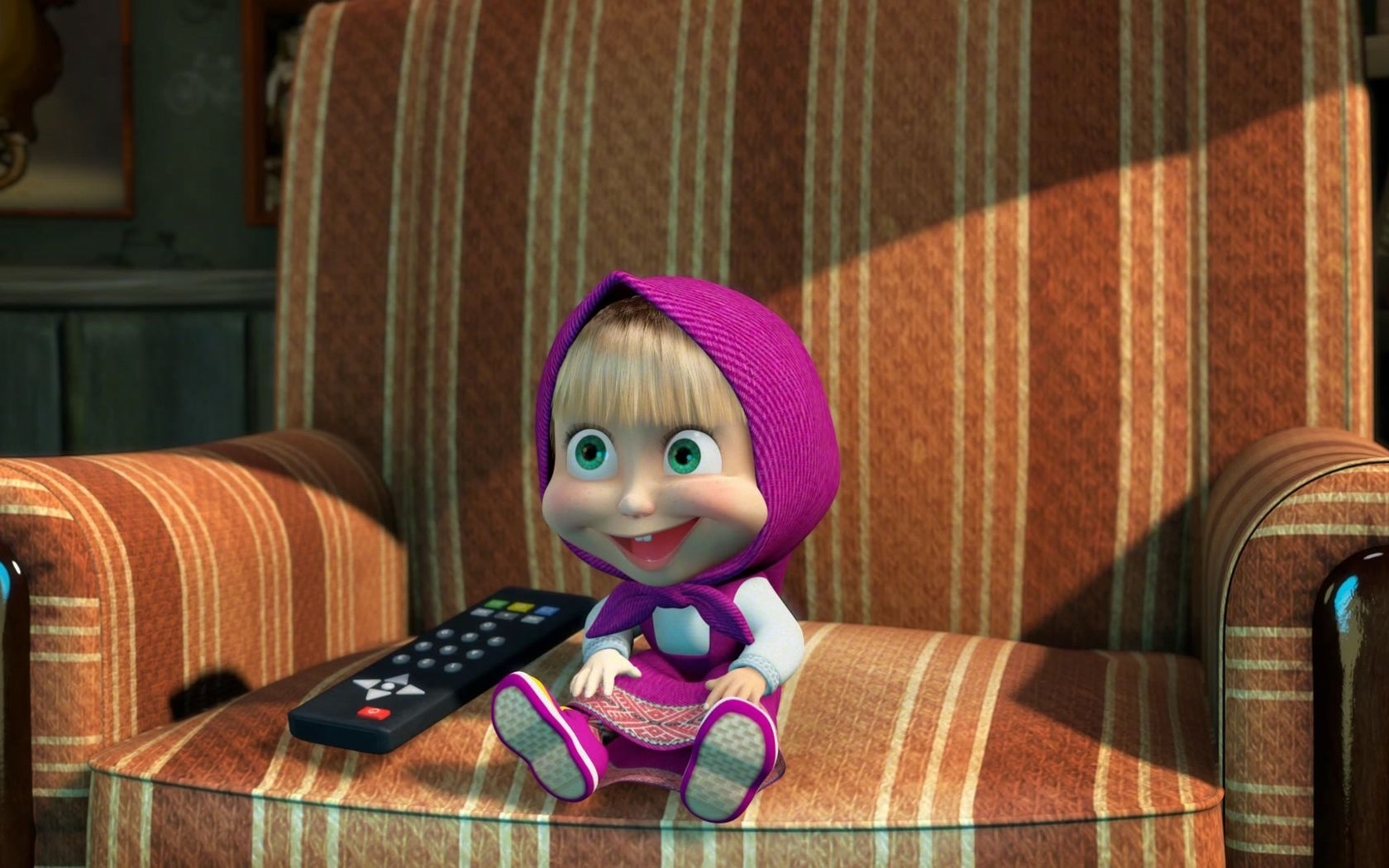 42607 download wallpaper Cartoon, Masha And The Bear screensavers and pictures for free