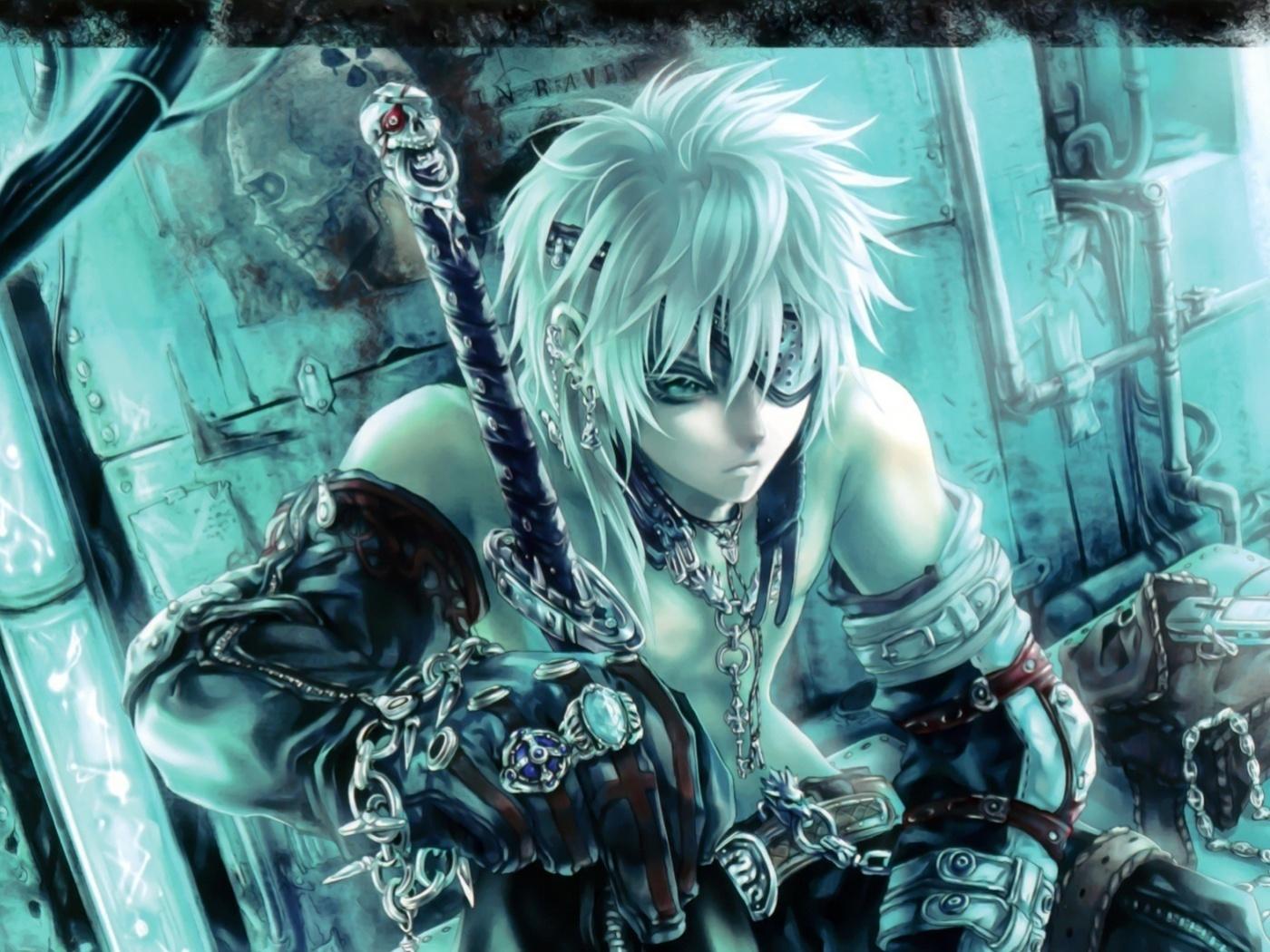 22820 baixar papel de parede Anime, Swords, Homens, Arma - protetores de tela e imagens gratuitamente
