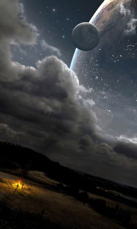 31674 télécharger le fond d'écran Paysage, Fantaisie, Planètes, Univers - économiseurs d'écran et images gratuitement