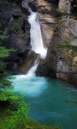 18489 скачать обои Пейзаж, Горы, Водопады - заставки и картинки бесплатно