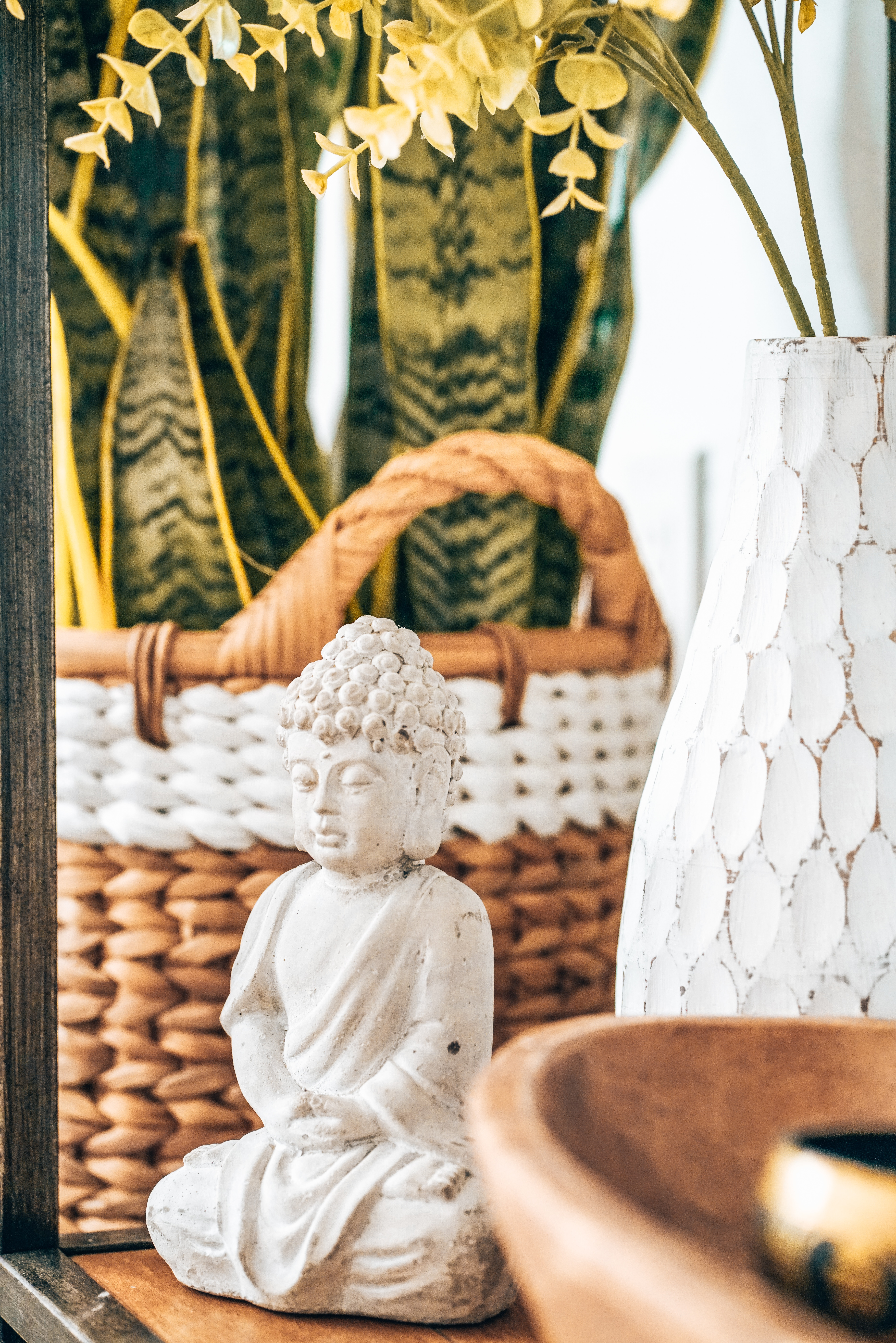 109895 скачать обои Разное, Статуя, Будда, Буддизм, Белый, Каменный - заставки и картинки бесплатно