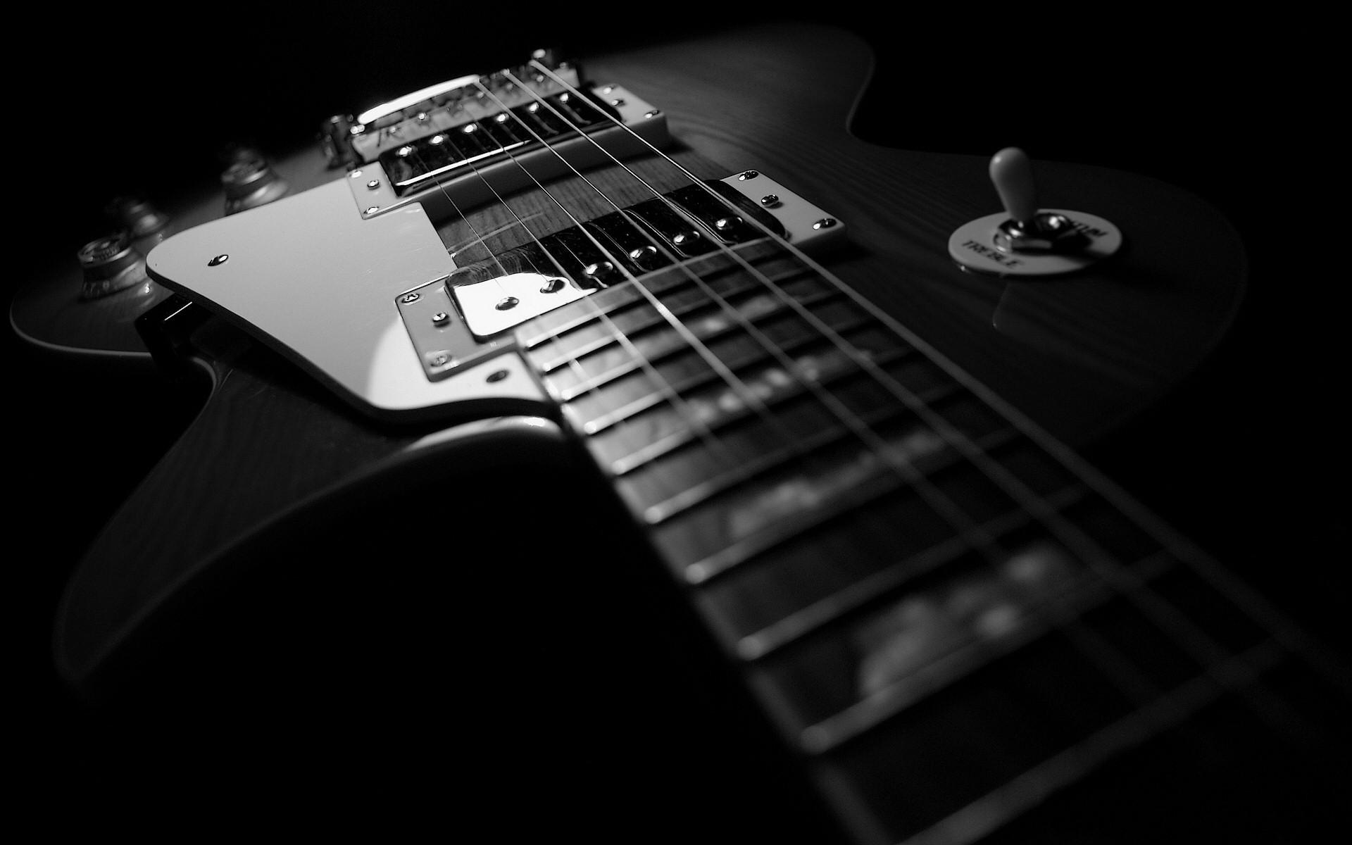 9483 Hintergrundbild herunterladen Musik, Fotokunst, Werkzeuge, Gitarren, Objekte - Bildschirmschoner und Bilder kostenlos