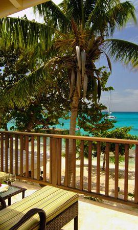 20906 скачать обои Пейзаж, Море, Пляж, Пальмы - заставки и картинки бесплатно