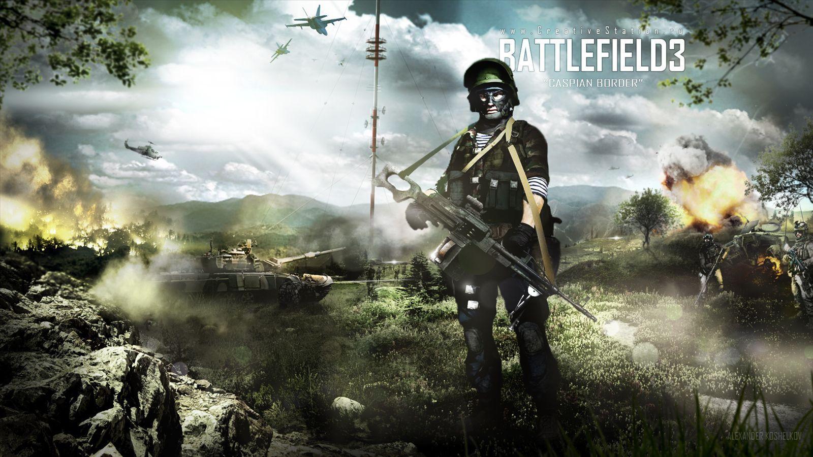 18206 Hintergrundbild herunterladen Spiele, Schlachtfeld - Bildschirmschoner und Bilder kostenlos