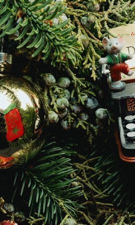 43104 descargar fondo de pantalla Vacaciones, Año Nuevo, Objetos: protectores de pantalla e imágenes gratis
