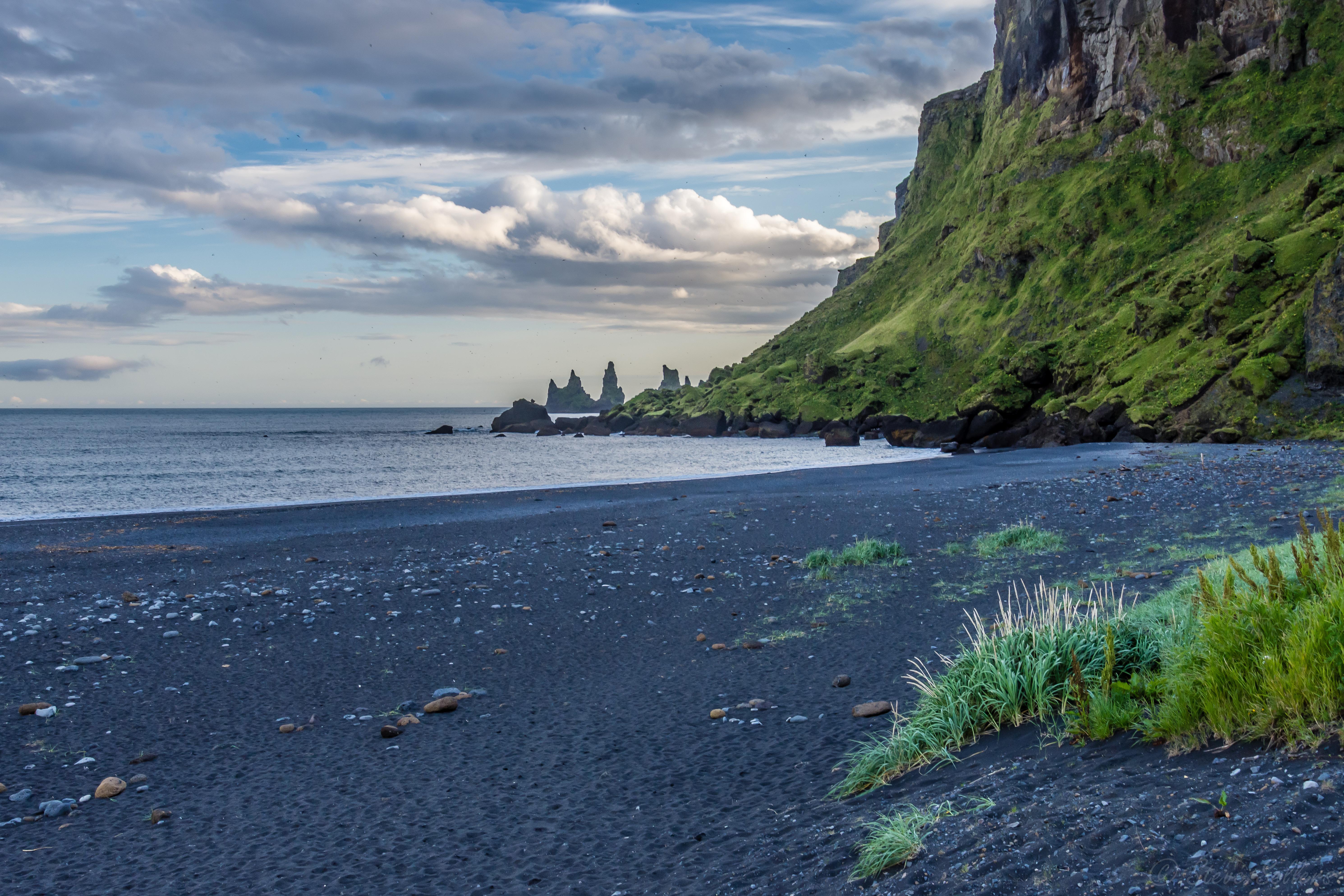 64282 descargar fondo de pantalla Playa, Paisaje, Naturaleza, Mar, Las Rocas, Rocas, Islandia: protectores de pantalla e imágenes gratis
