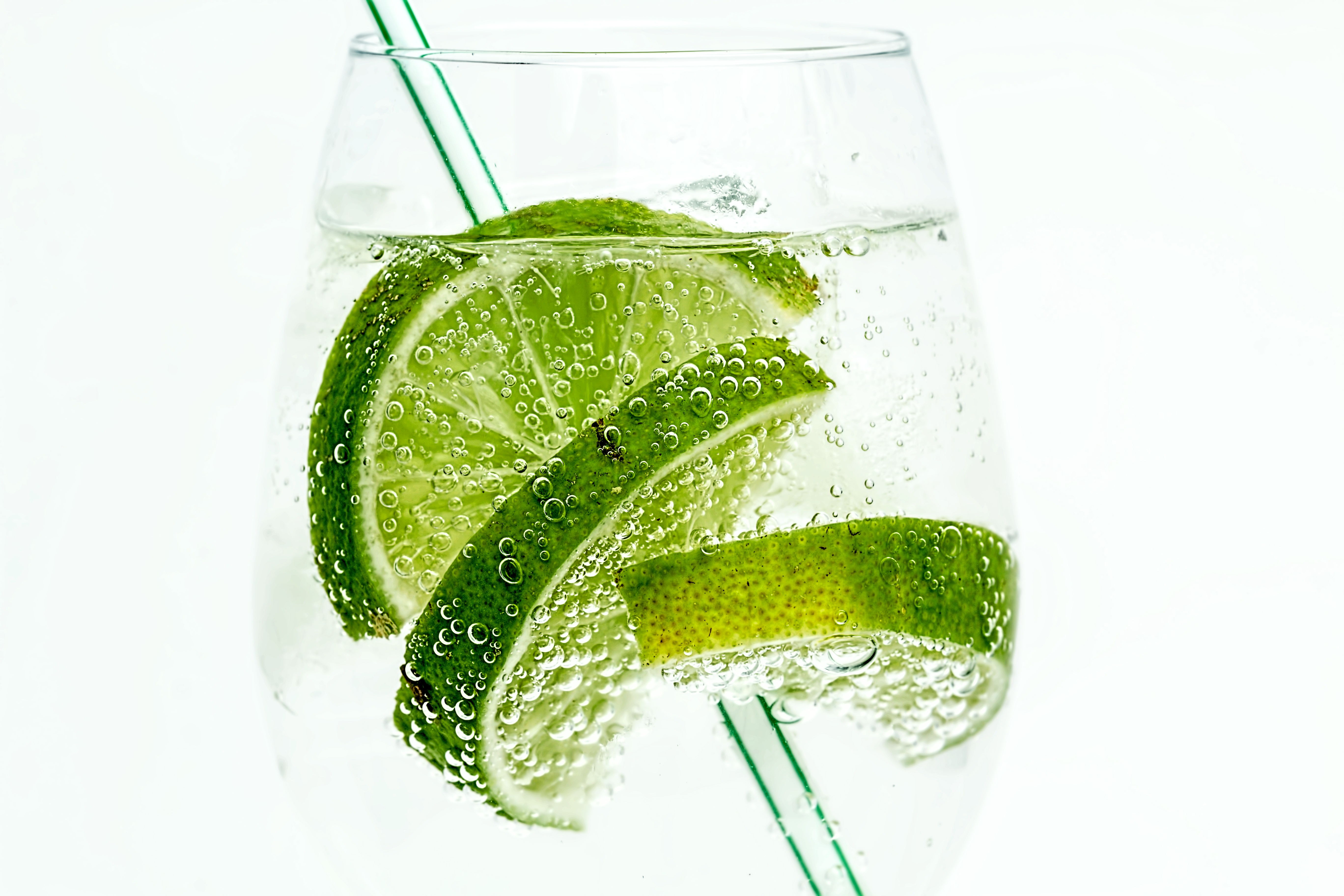 84663 download wallpaper Food, Bubbles, Lime, Drink, Beverage, Tubule screensavers and pictures for free