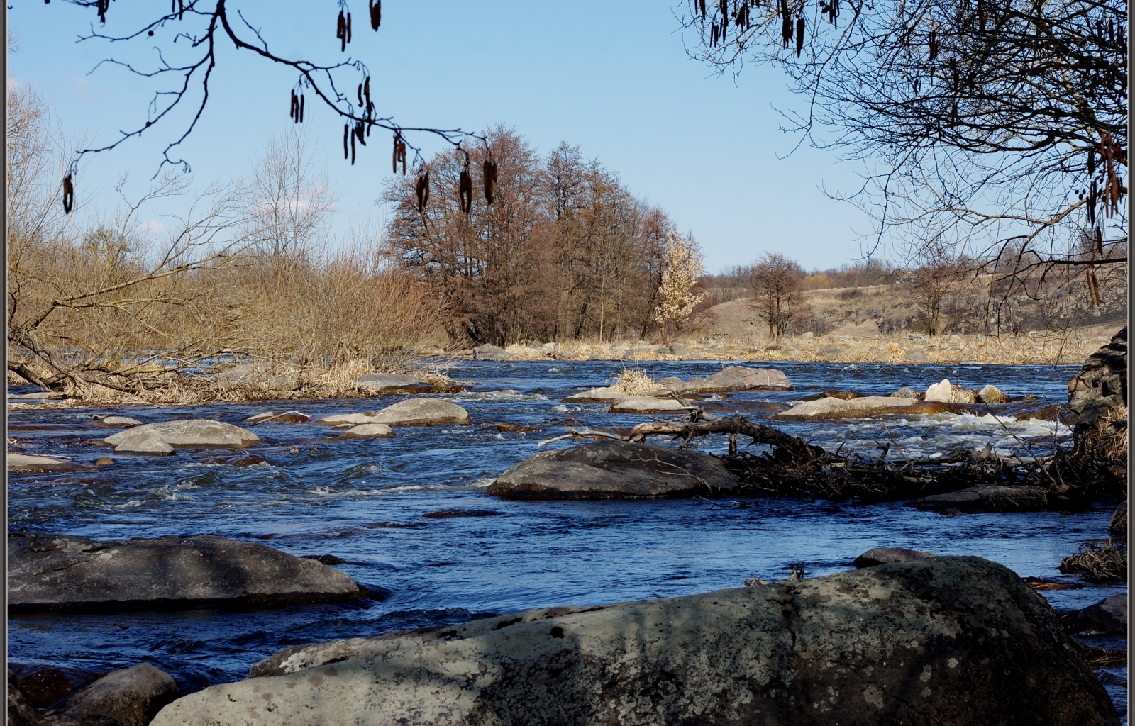 24405 скачать обои Пейзаж, Река, Камни - заставки и картинки бесплатно