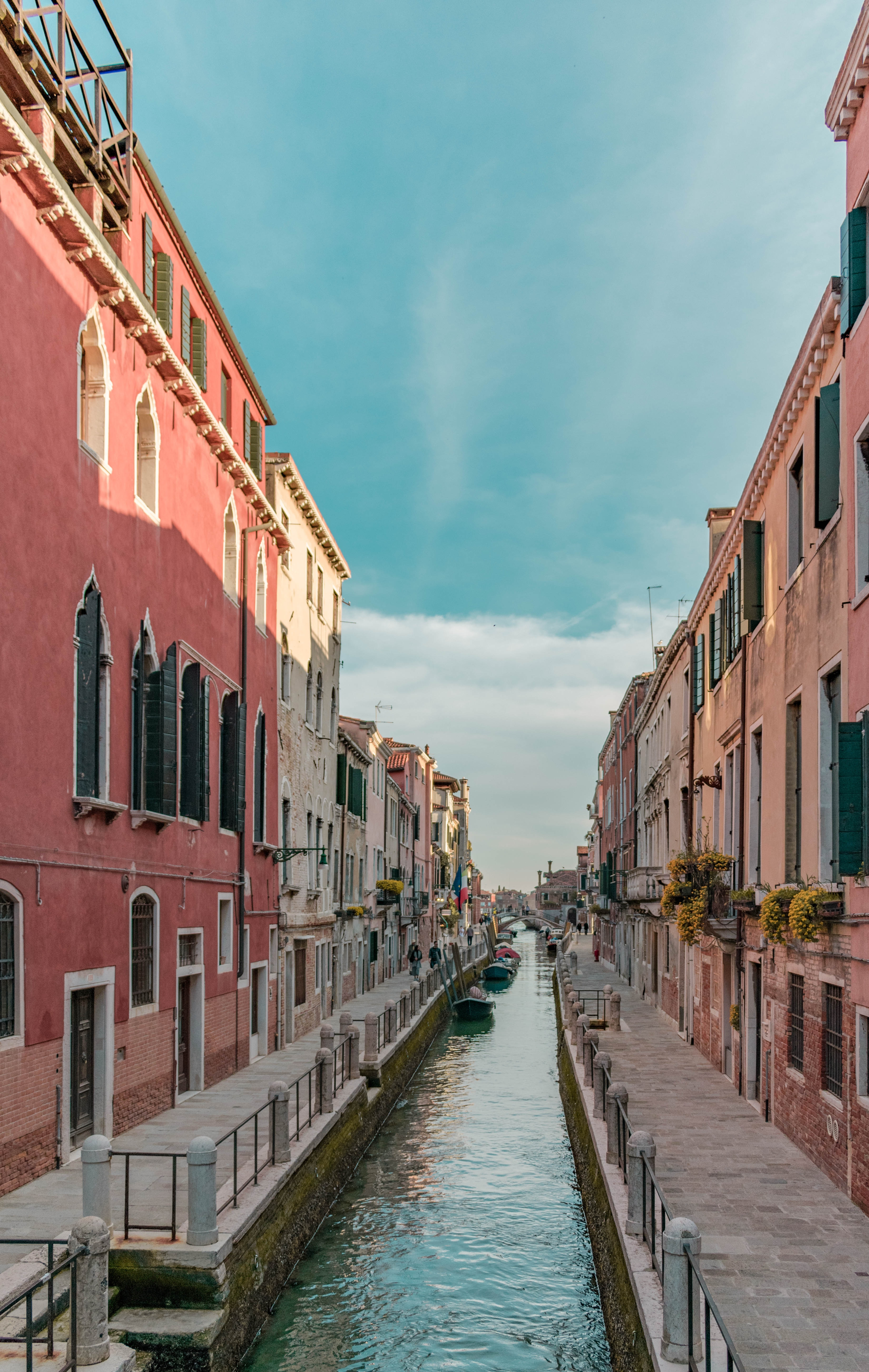 100889 скачать обои Италия, Венеция, Города, Здания, Улица, Канал - заставки и картинки бесплатно