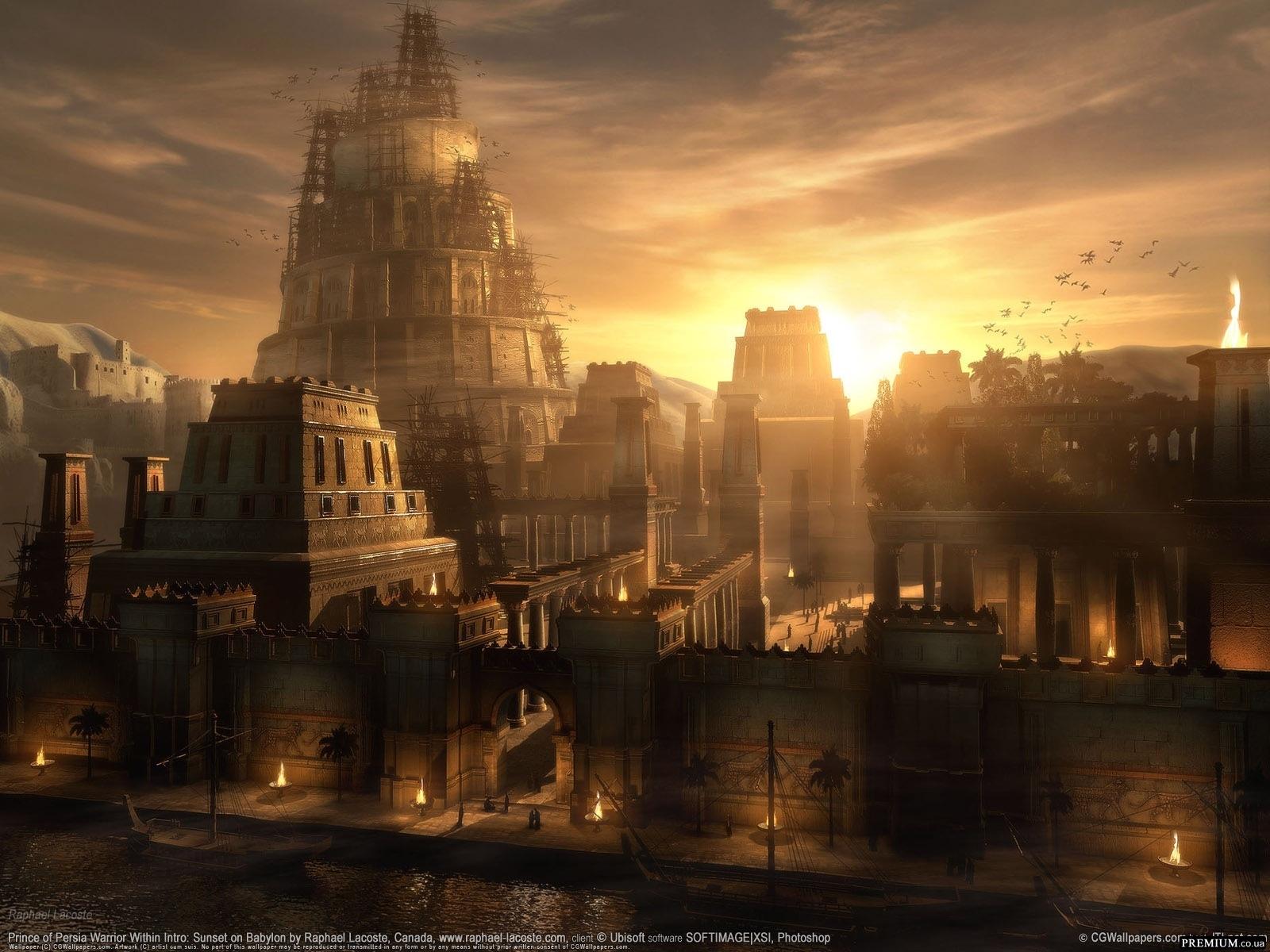 2837 скачать обои Игры, Города, Архитектура, Принц Персии (Prince Of Persia) - заставки и картинки бесплатно