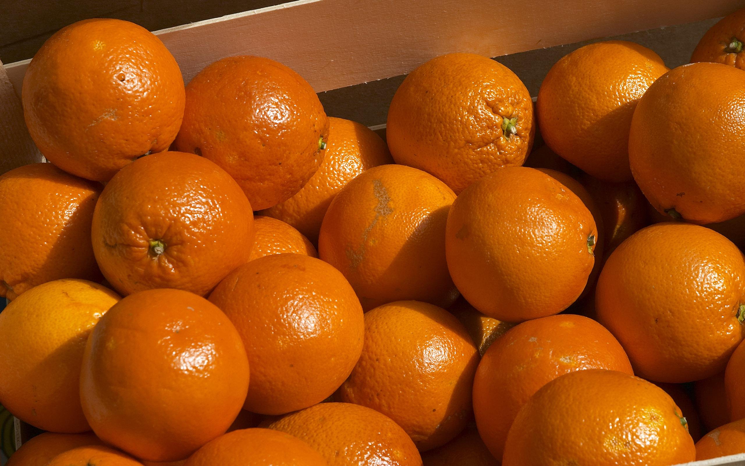 5573 скачать обои Фрукты, Еда, Фон, Апельсины - заставки и картинки бесплатно