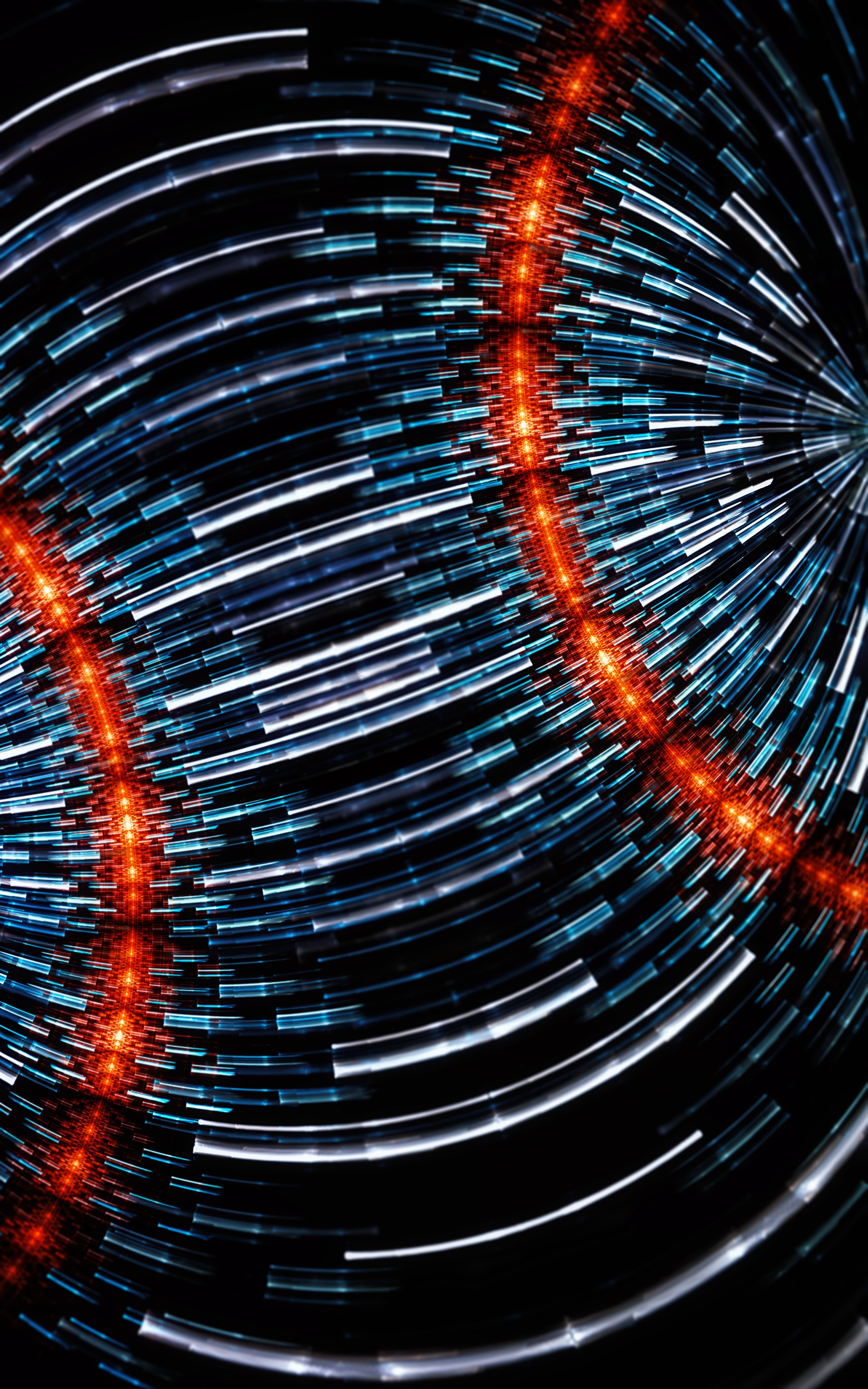 73105 free wallpaper 720x1560 for phone, download images Abstract, Lines, Form, Glow, Plexus, Connections, Connection 720x1560 for mobile