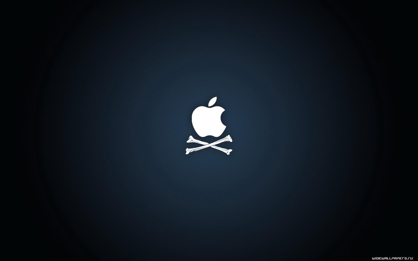 72 скачать обои Бренды, Логотипы, Apple, Пираты - заставки и картинки бесплатно