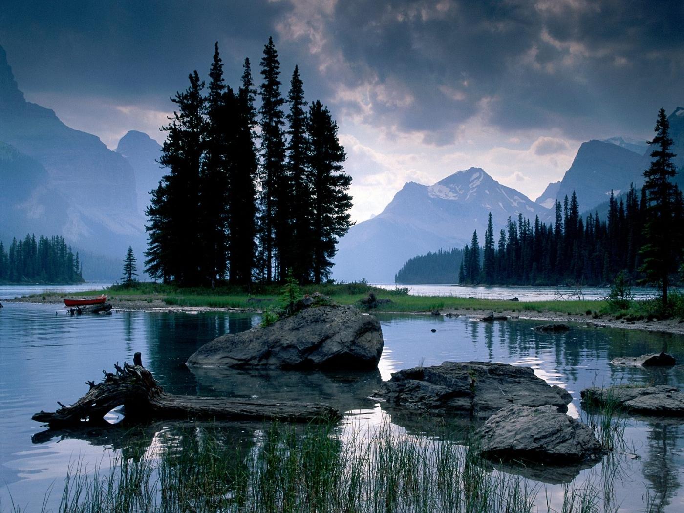 34532 télécharger le fond d'écran Paysage, Rivières, Montagnes - économiseurs d'écran et images gratuitement