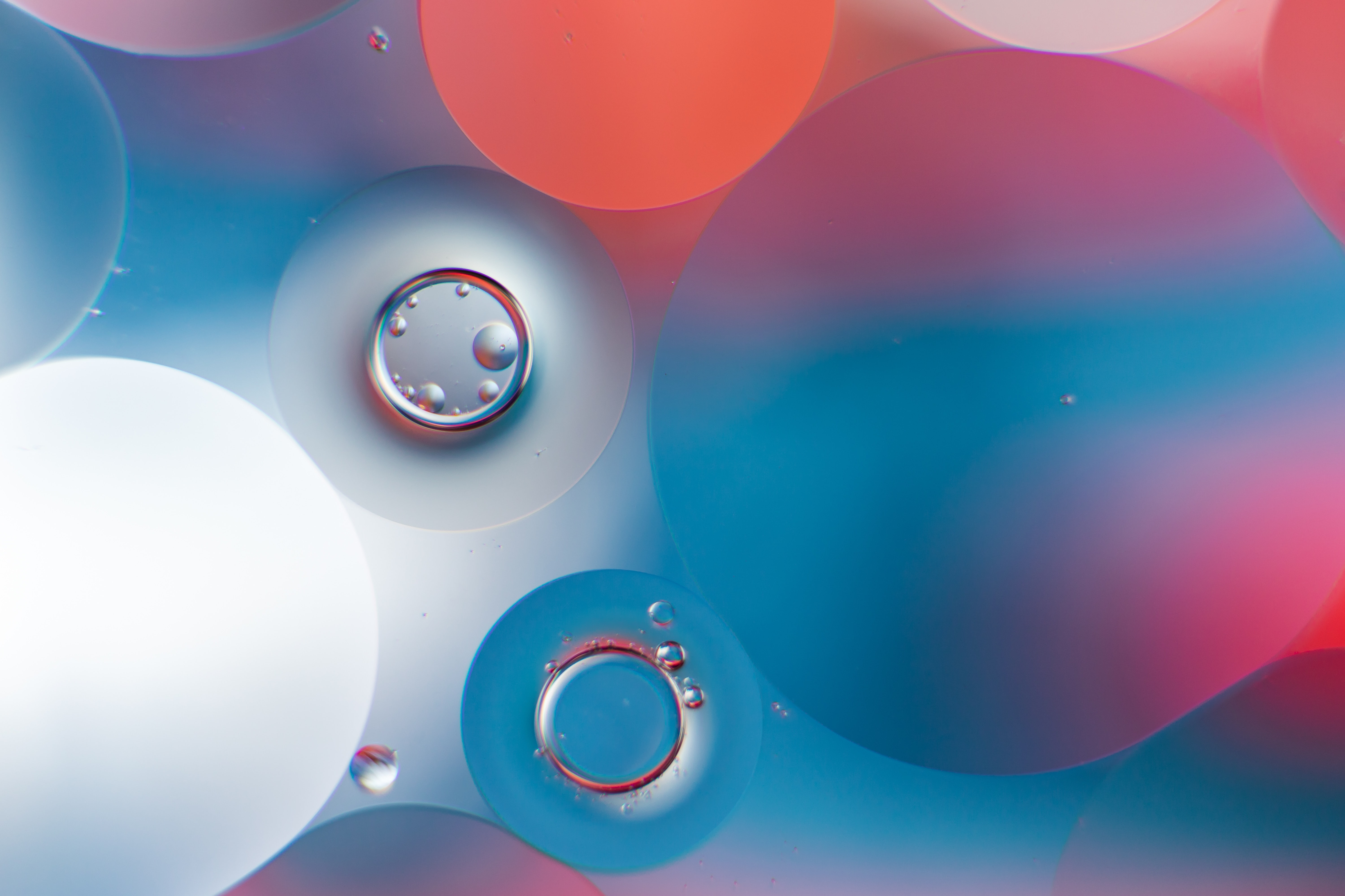 50659 download wallpaper Abstract, Water, Bubbles, Round, Gradient screensavers and pictures for free
