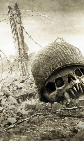 17272 скачать обои Смерть, Рисунки, Война - заставки и картинки бесплатно