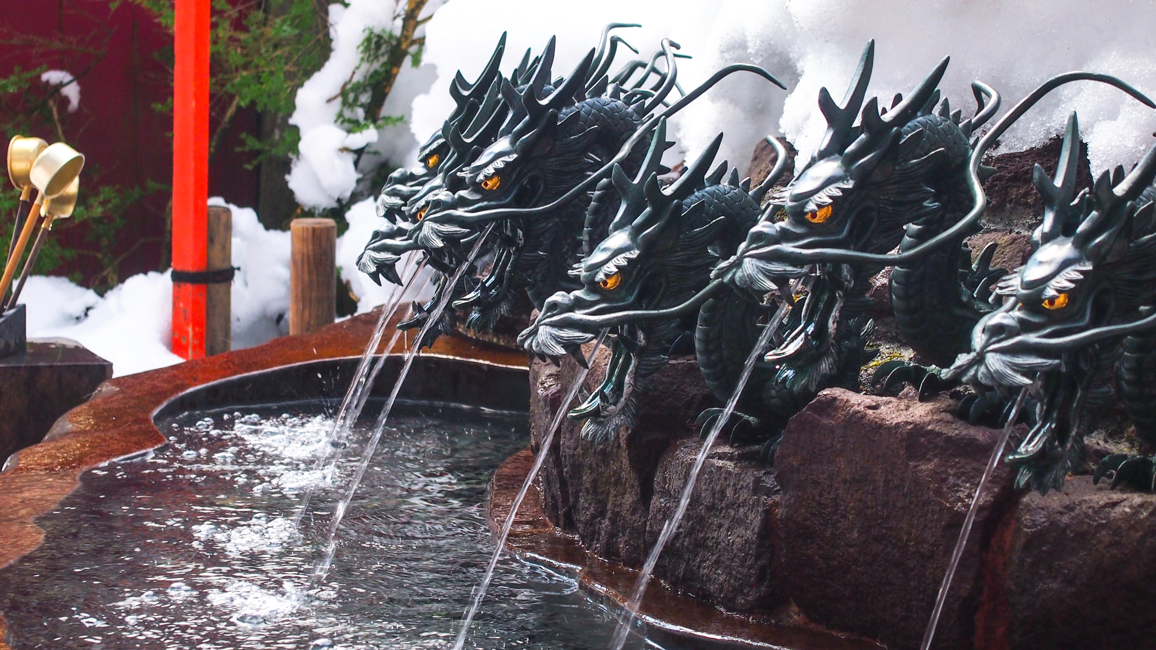 145450 Screensavers and Wallpapers Dragons for phone. Download Miscellanea, Miscellaneous, Fountain, Water, Dragons pictures for free