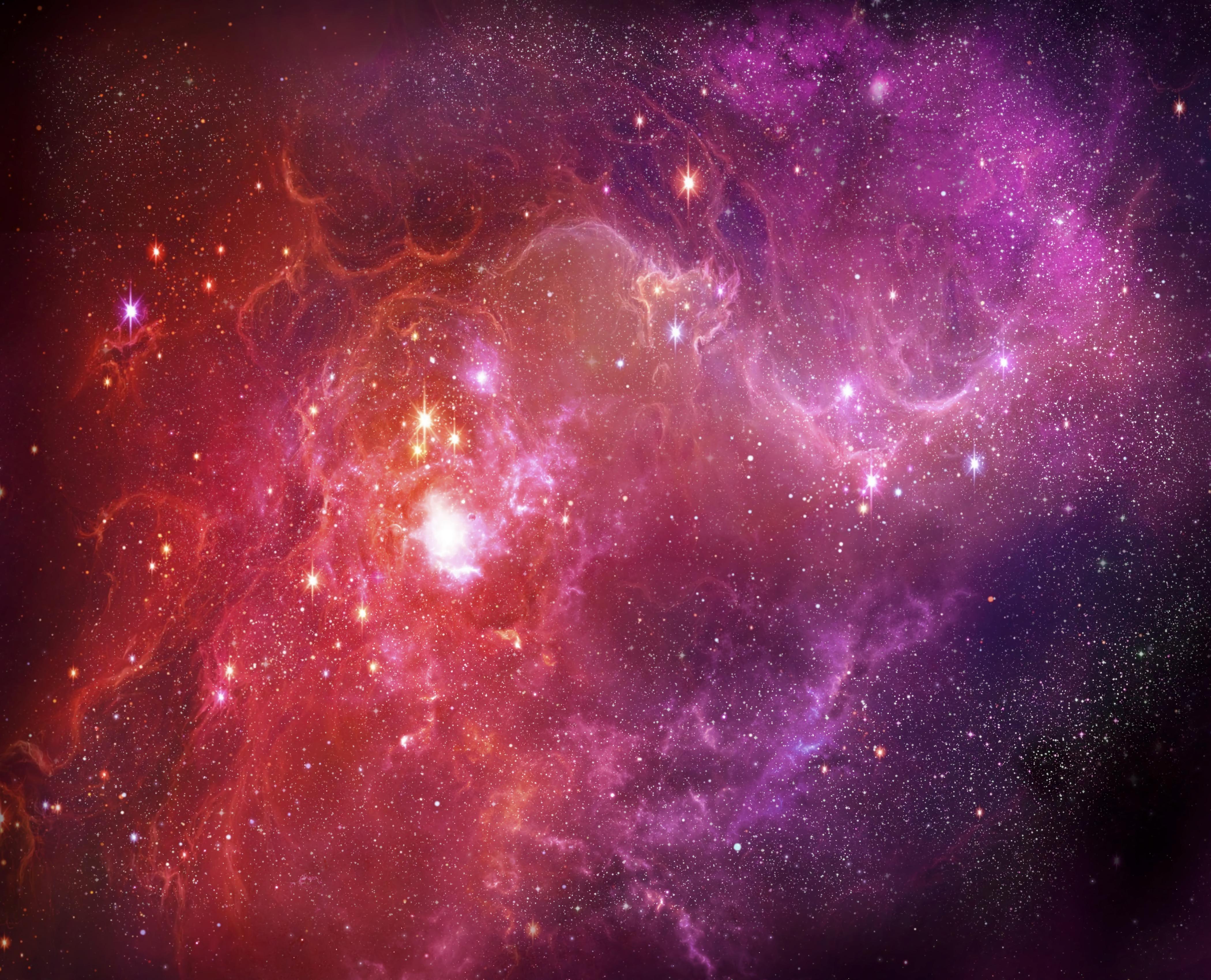 105952 免費下載壁紙 抽象, 星云, 强光, 高光, 闪耀, 光, 明亮的, 明亮, 云, 云端 屏保和圖片