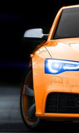 99071 télécharger le fond d'écran Voitures, Audi Rs5, Audi, Pare-Chocs, Phares, Lumières, Briller, Lumière - économiseurs d'écran et images gratuitement