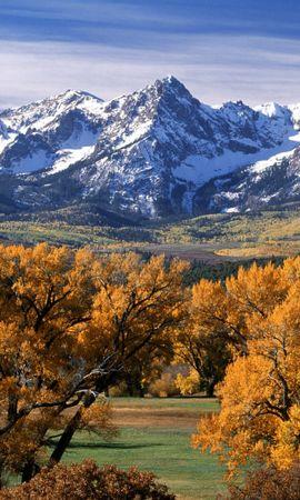 34600 скачать обои Пейзаж, Горы, Осень - заставки и картинки бесплатно