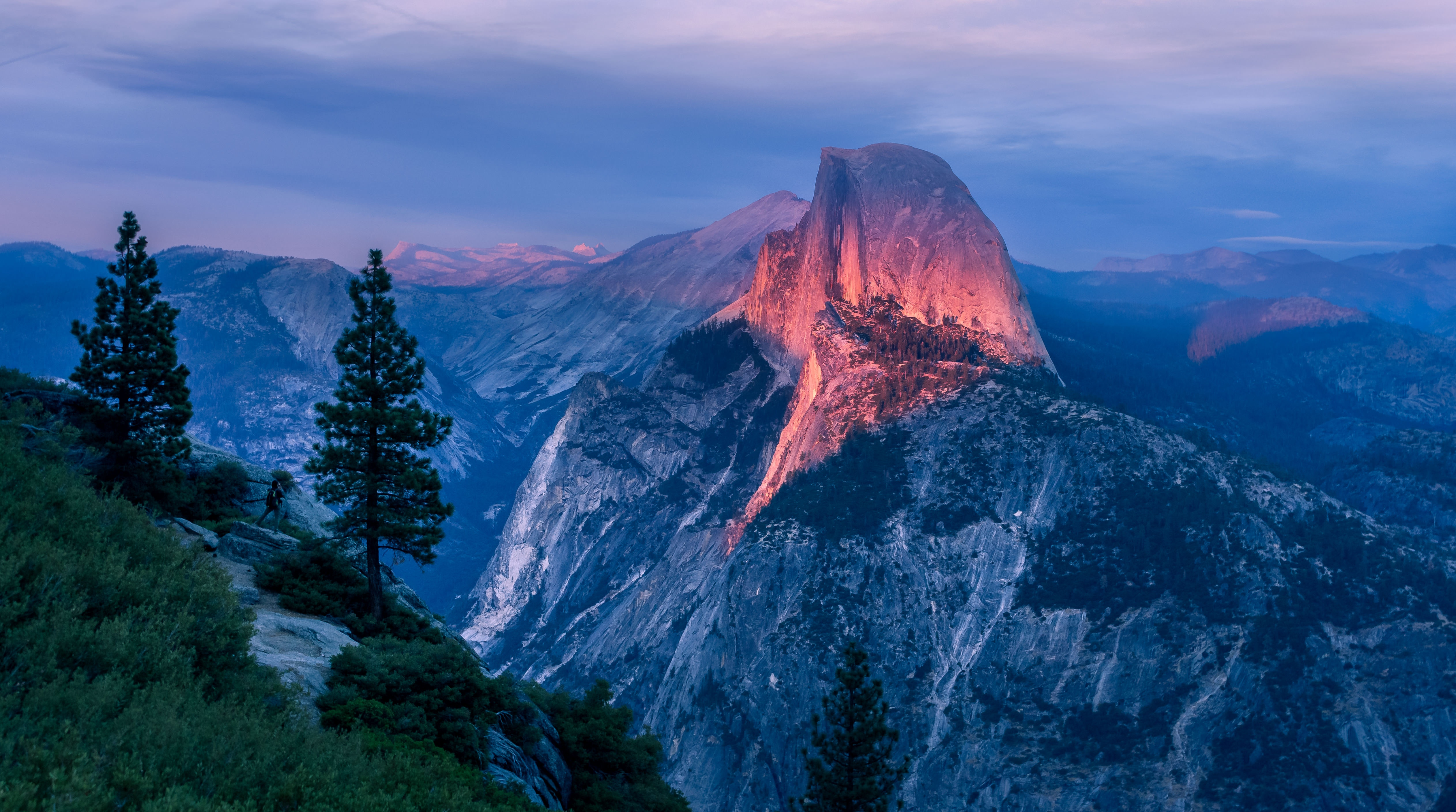 51148 download wallpaper Nature, Sky, Usa, Mountain, Vertex, Top, United States, Yosemite Valley screensavers and pictures for free