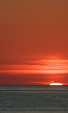 15187 скачать обои Пейзаж, Закат, Небо, Море, Солнце - заставки и картинки бесплатно