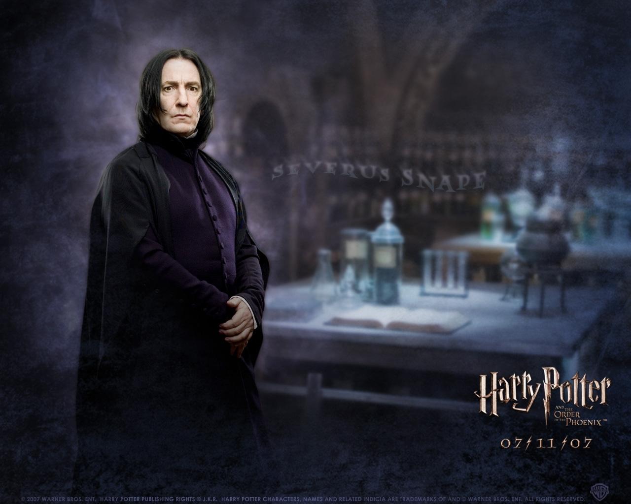6490 download wallpaper Cinema, People, Actors, Men, Alan Rickman, Harry Potter screensavers and pictures for free