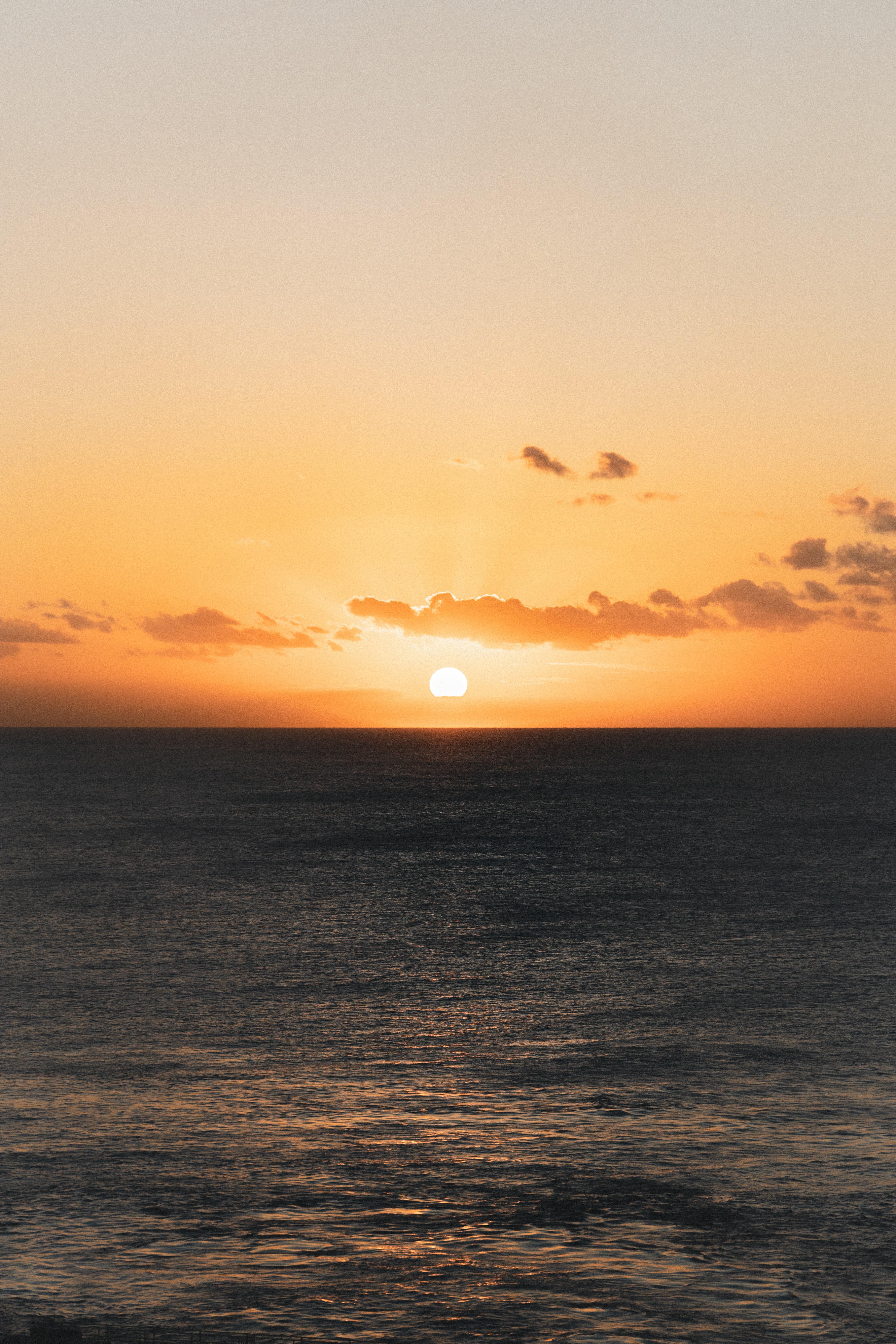 110799 download wallpaper Nature, Sunset, Ocean, Horizon, Dusk, Twilight, Sun screensavers and pictures for free