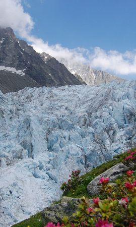 157040 télécharger le fond d'écran Nature, Avalanche, Neige, Sale, Nuages, Sky, Montagnes, Fleurs - économiseurs d'écran et images gratuitement