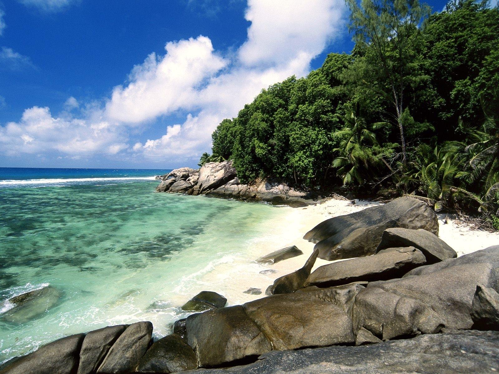 5061 скачать обои Пейзаж, Вода, Камни, Море, Пляж - заставки и картинки бесплатно