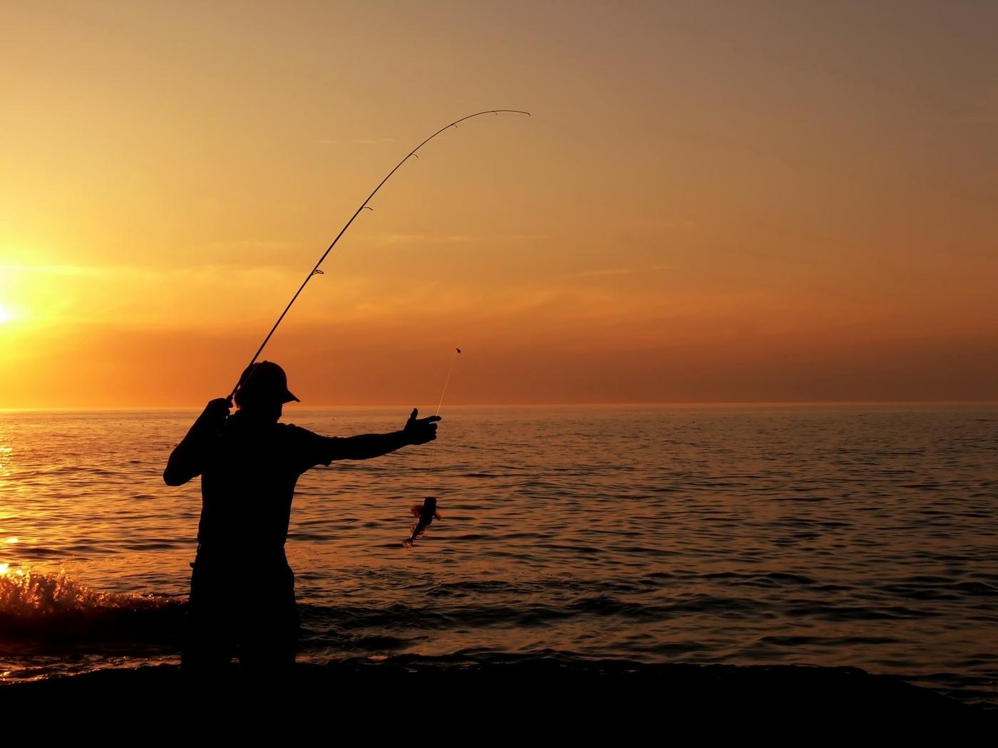49284 Заставки и Обои Рыбы на телефон. Скачать Спорт, Пейзаж, Люди, Море, Рыбы картинки бесплатно