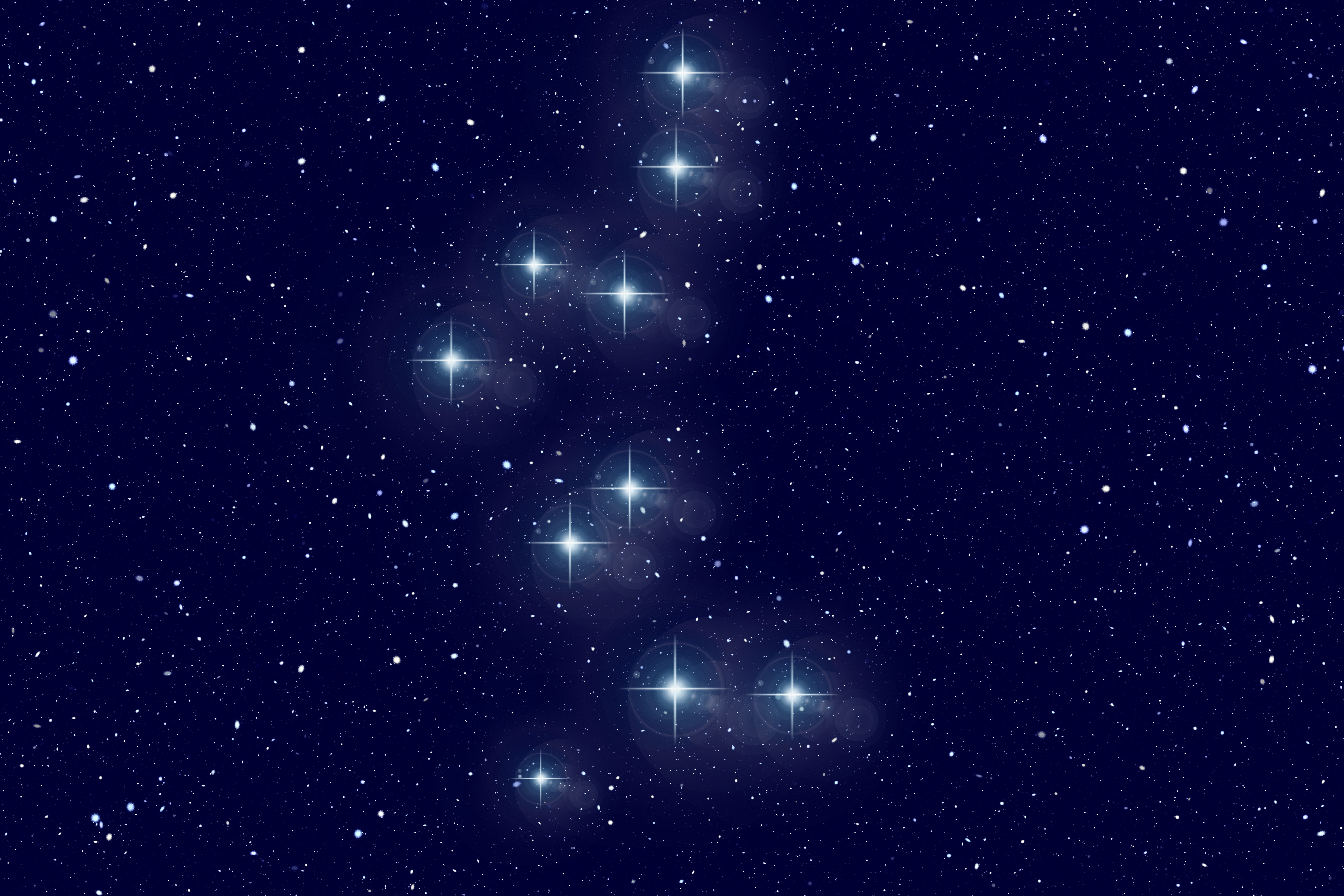 61396 Screensavers and Wallpapers Bear for phone. Download Universe, Starry Sky, Bear, Galaxy, Constellation, Astronomy pictures for free