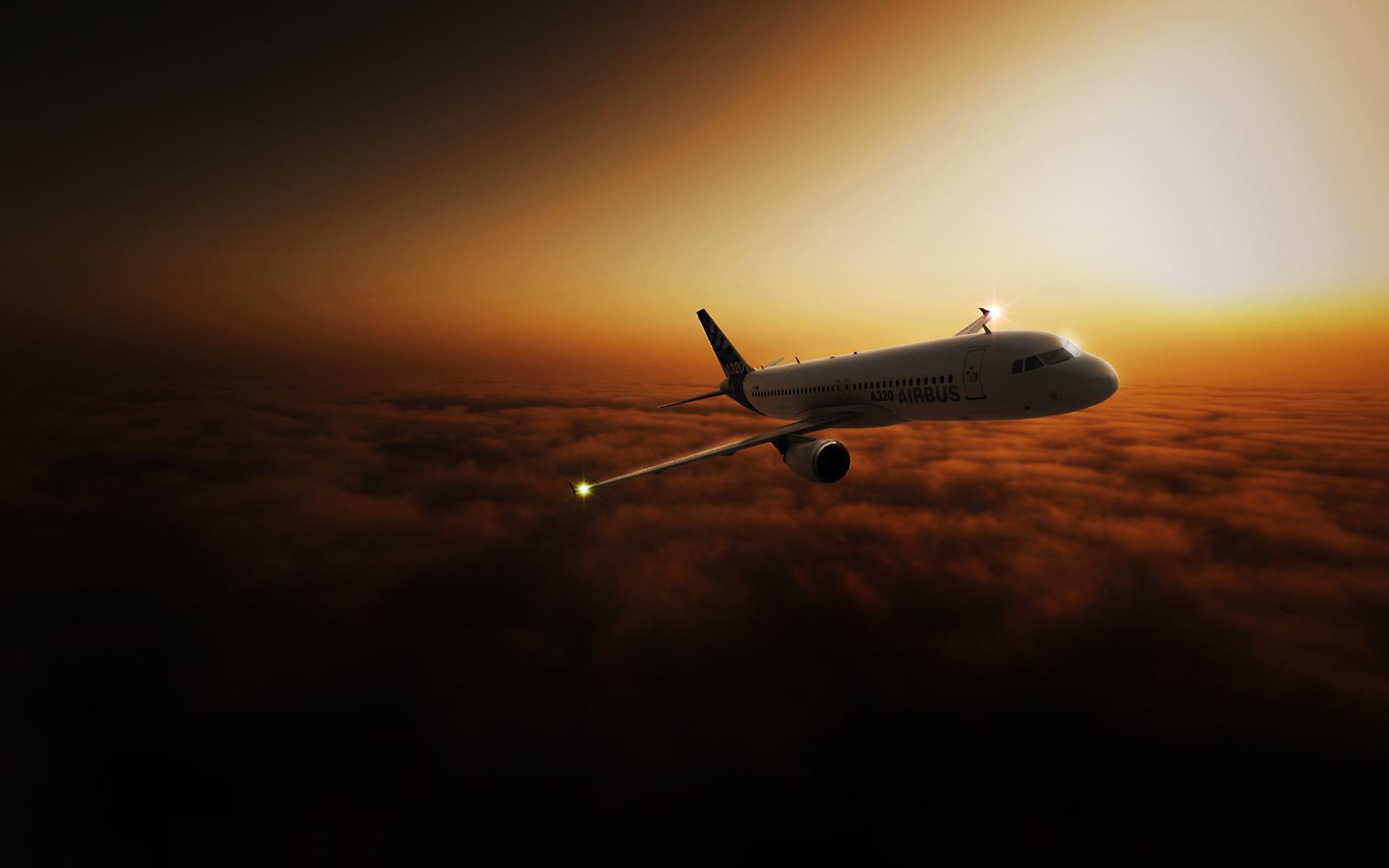 13540 Hintergrundbild herunterladen Flugzeuge, Transport - Bildschirmschoner und Bilder kostenlos