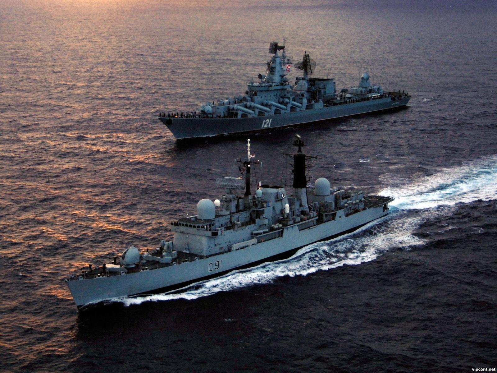 20058 скачать обои Транспорт, Корабли, Море, Оружие - заставки и картинки бесплатно