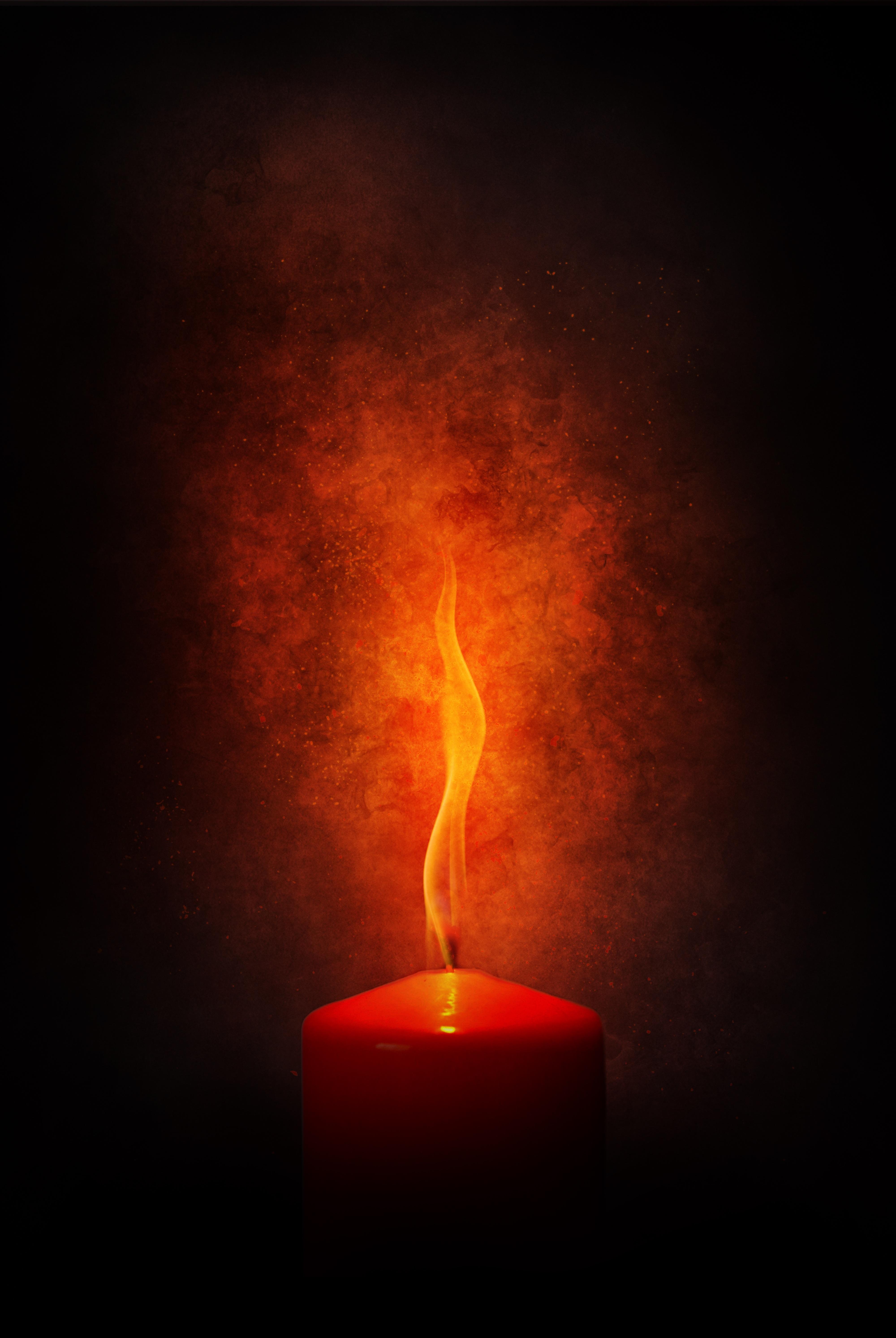 75352 Заставки и Обои Огонь на телефон. Скачать Огонь, Темные, Пламя, Темный, Свеча, Гореть картинки бесплатно