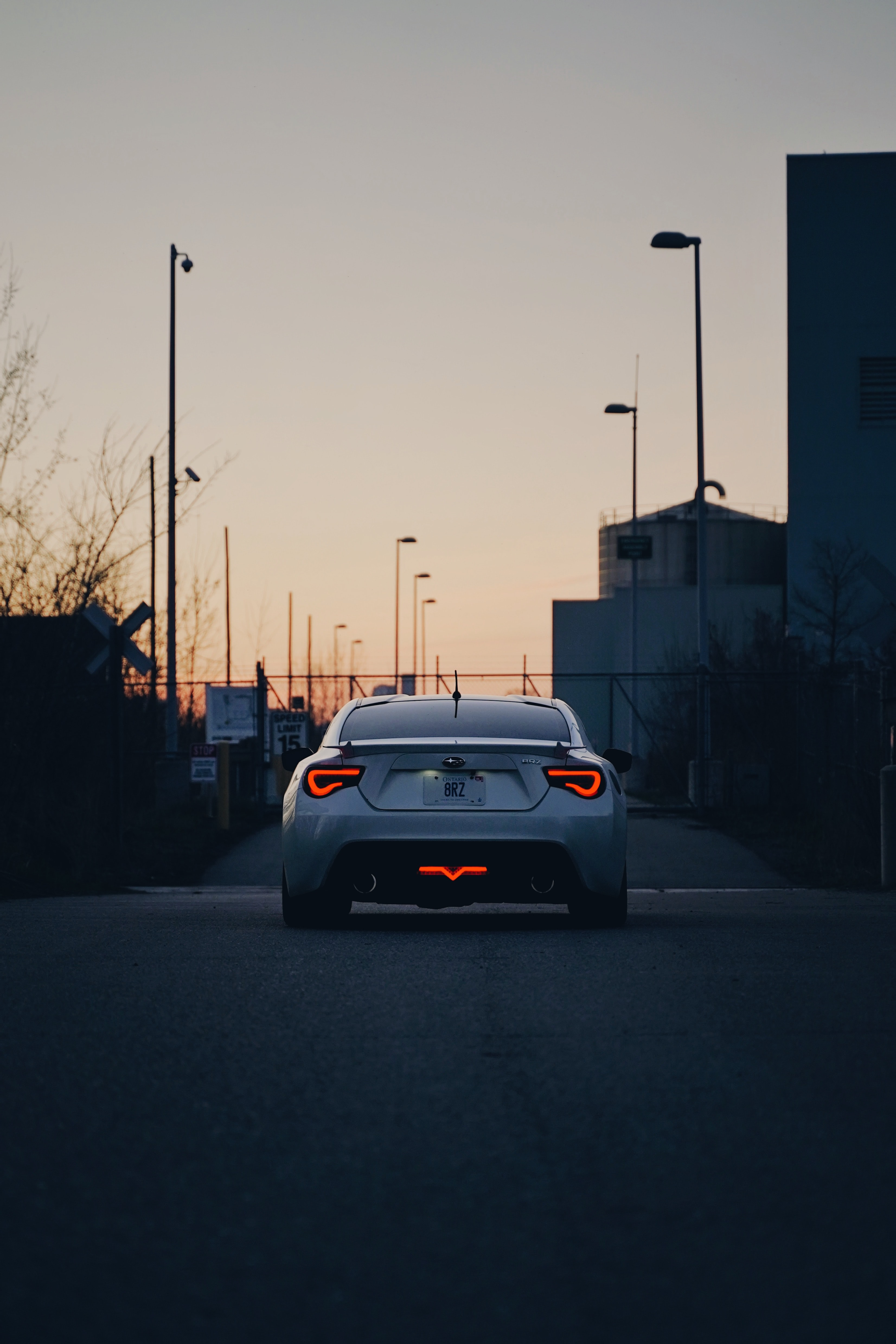 111399 Screensavers and Wallpapers Subaru for phone. Download Sports, Subaru, Cars, Car, Sports Car, Back View, Rear View, Spoiler, Subaru Brz pictures for free
