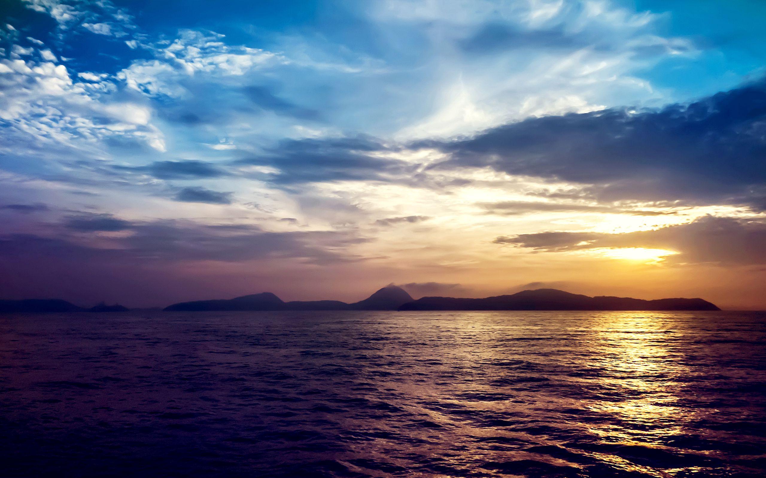 146811壁紙のダウンロード自然, 海, 日没, 岩-スクリーンセーバーと写真を無料で