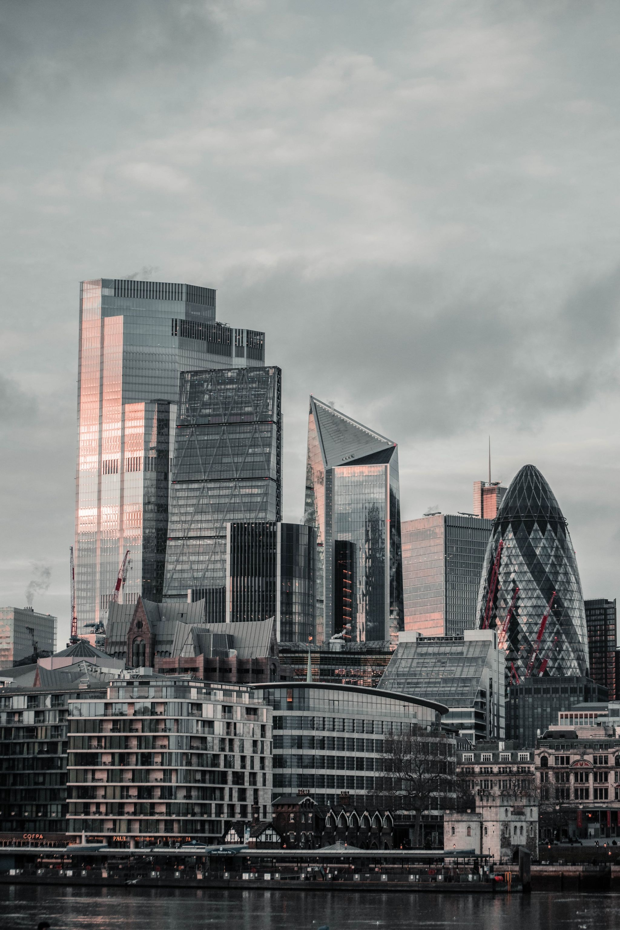 104763 Screensavers and Wallpapers London for phone. Download Cities, London, City, Building, Skyscrapers pictures for free