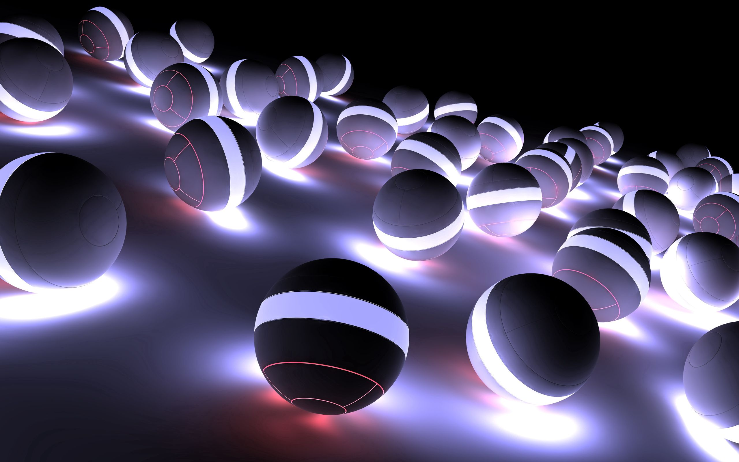 137052 Screensavers and Wallpapers Balls for phone. Download 3D, Shine, Light, Bright, Shadow, Neon, Balls pictures for free