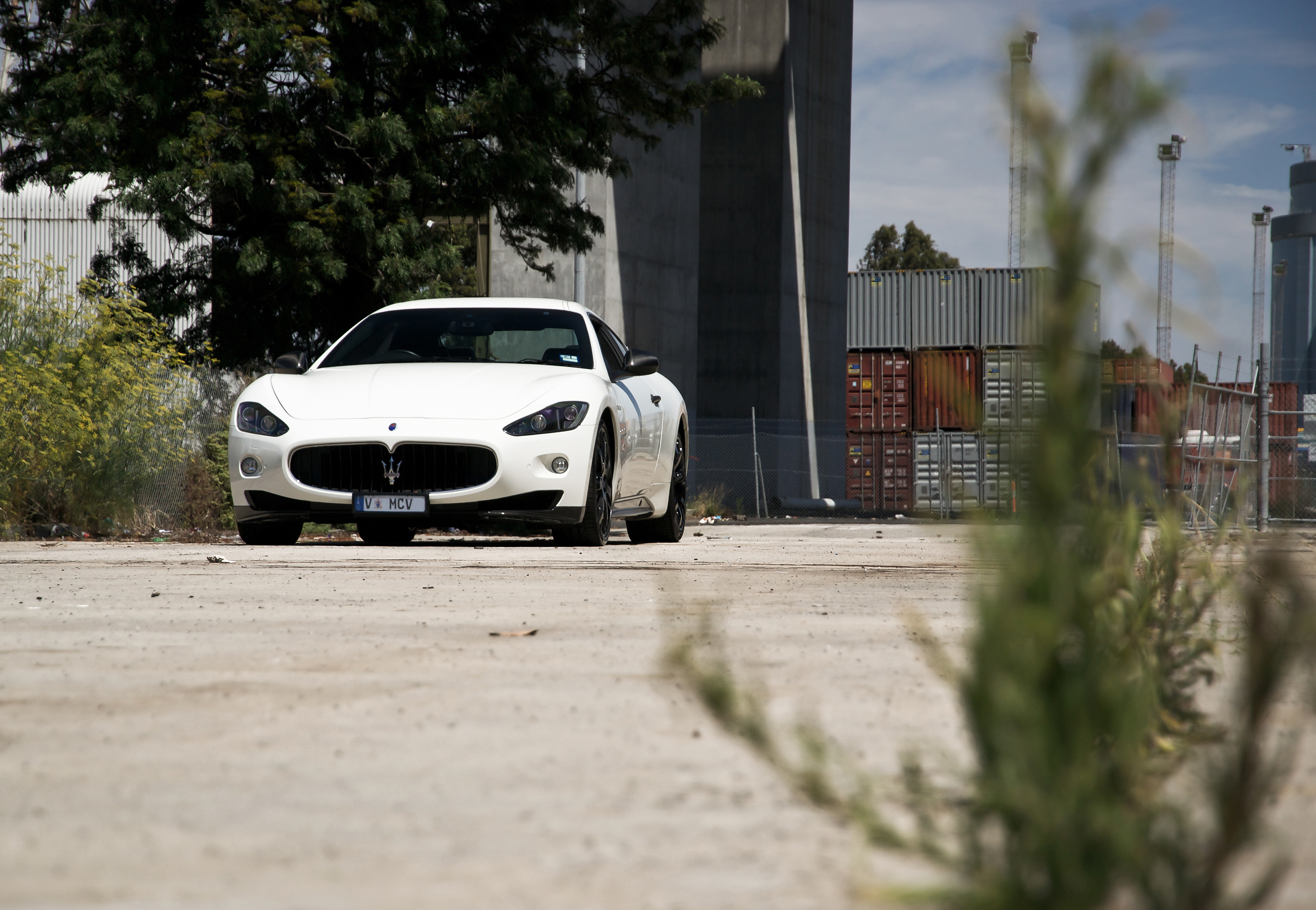 79957 download wallpaper Cars, Maserati, Granturismo, Front View screensavers and pictures for free