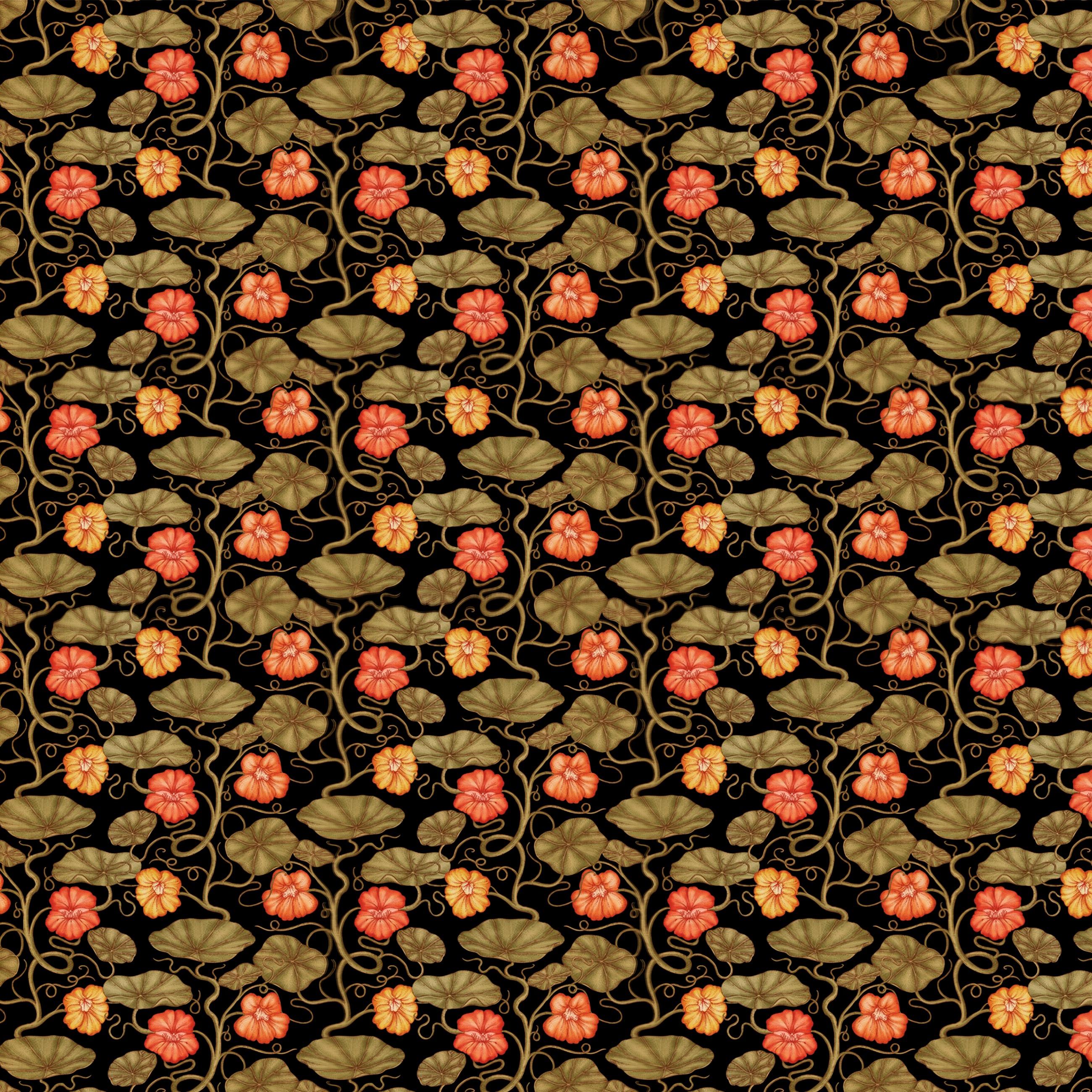 152054 скачать обои Текстуры, Паттерн, Узор, Листья, Стебли, Растения, Цветы - заставки и картинки бесплатно