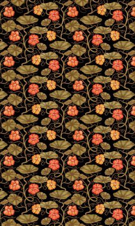 152054 descargar fondo de pantalla Texturas, Textura, Patrón, Hojas, Tallos, Plantas, Flores: protectores de pantalla e imágenes gratis