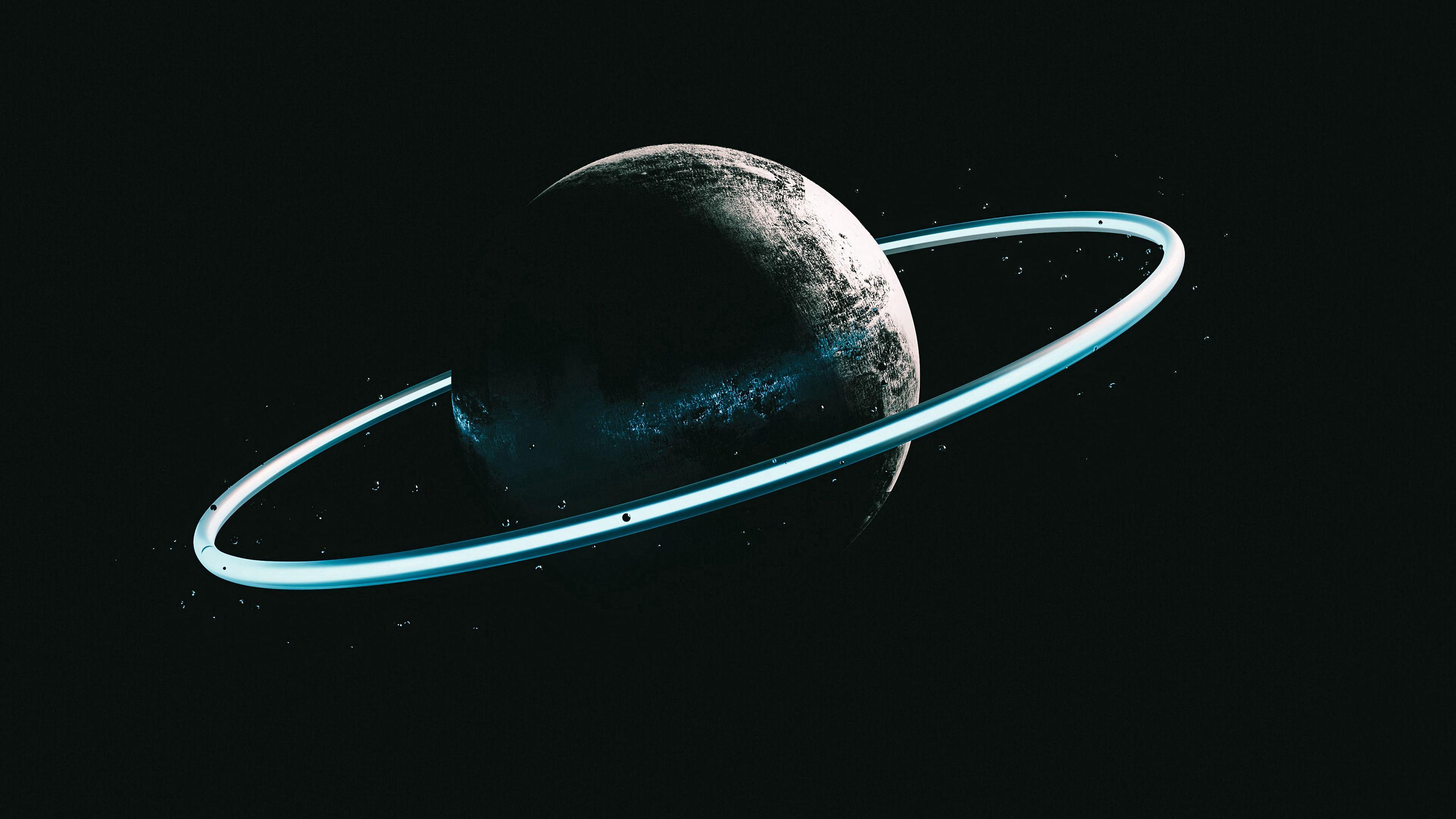 54243 Protetores de tela e papéis de parede Escuro em seu telefone. Baixe Escuro, Universo, Anel, Planeta, Um Círculo, Círculo fotos gratuitamente